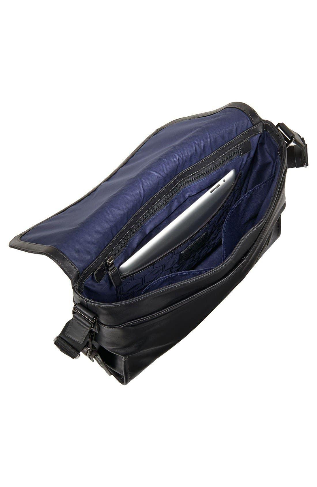 'Harrison - Mathews' Messenger Bag,                             Alternate thumbnail 5, color,                             001