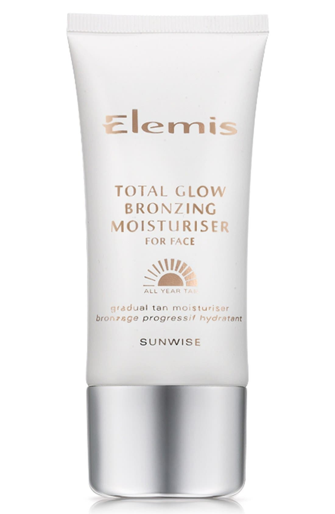 Total Glow Bronzing Moisturizer for Face,                             Main thumbnail 1, color,                             NO COLOR