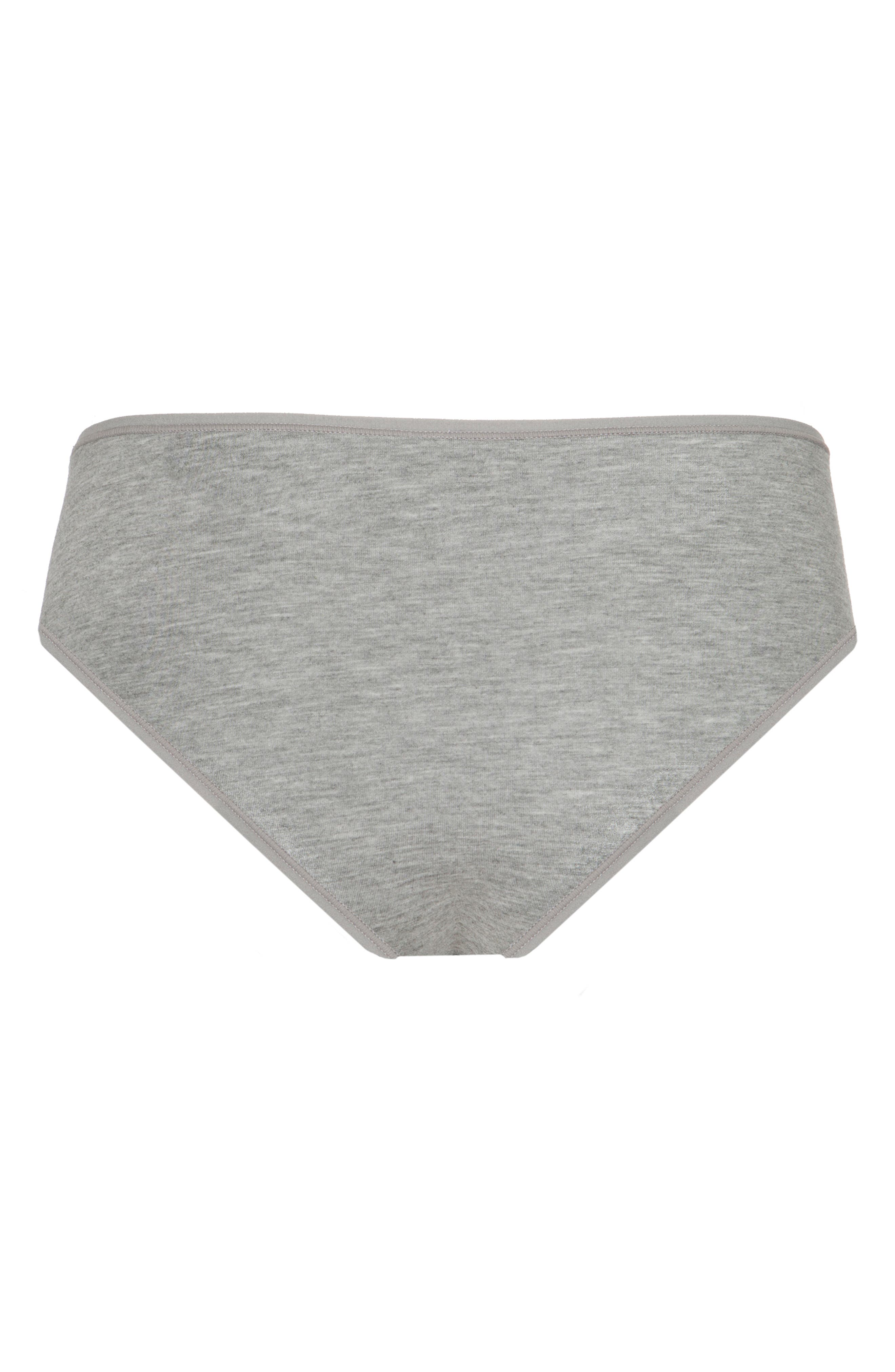 The All Day Briefs,                             Alternate thumbnail 3, color,                             HEATHER GREY