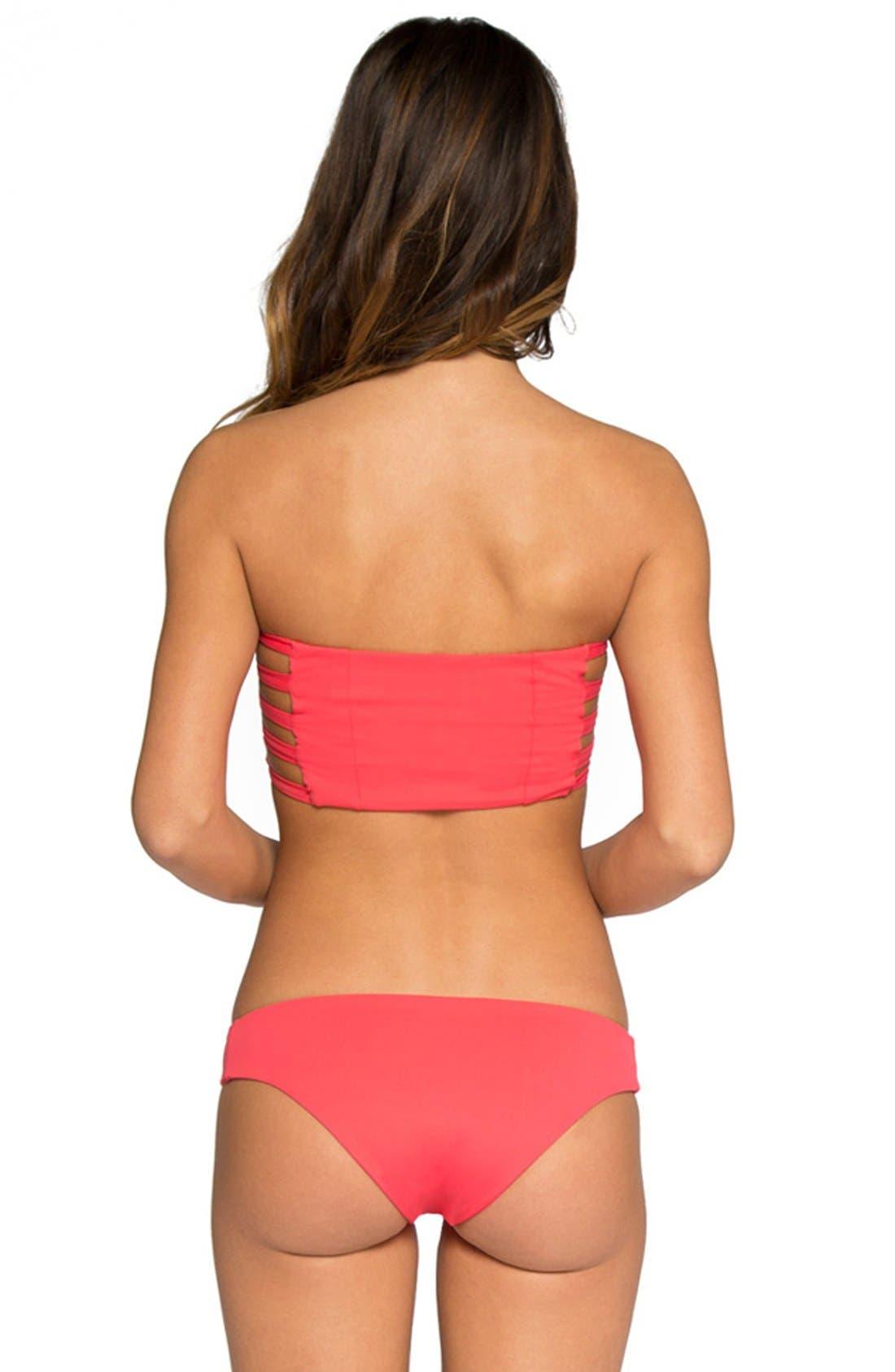 'Ali' Moderate Coverage Bikini Bottoms,                             Alternate thumbnail 58, color,