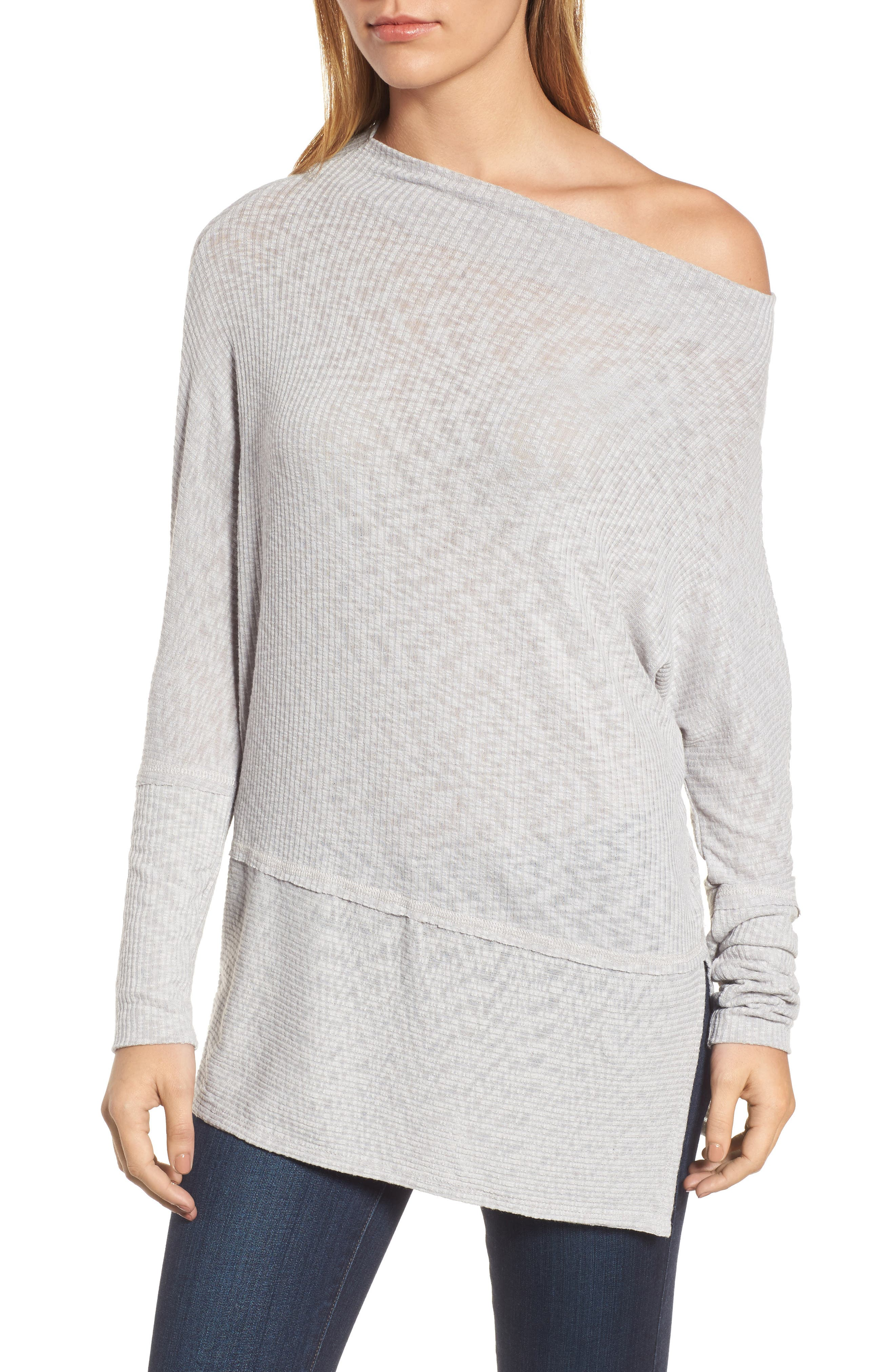 Convertible Wide Neck Top,                             Alternate thumbnail 17, color,