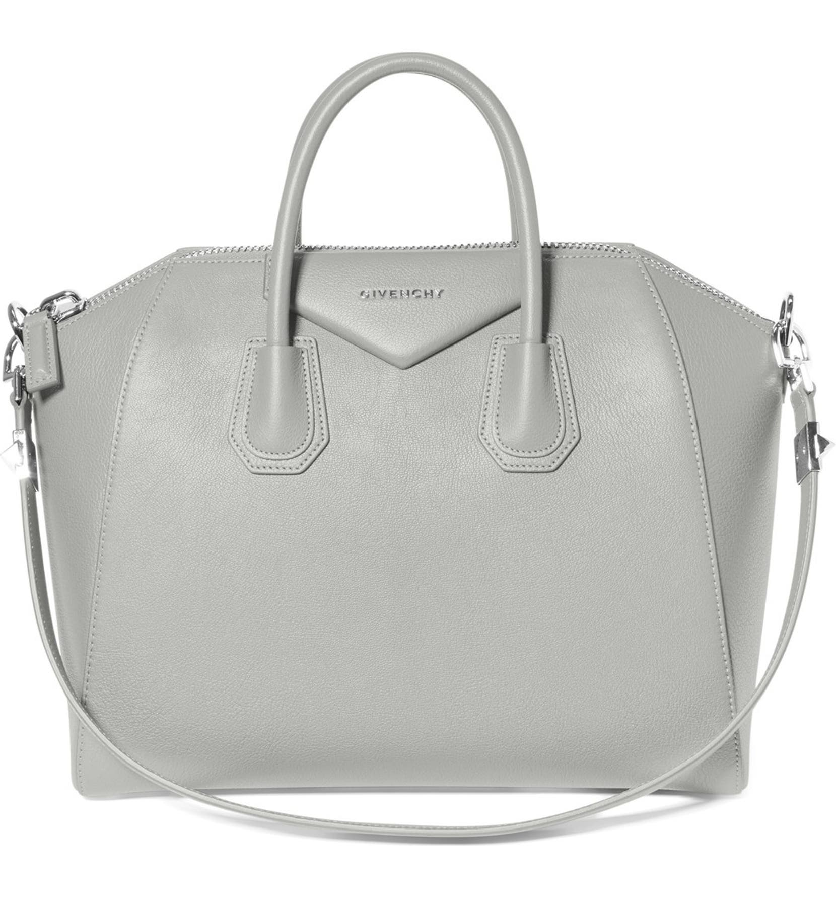 Givenchy  Medium Antigona  Sugar Leather Satchel  35d57e1a3708f