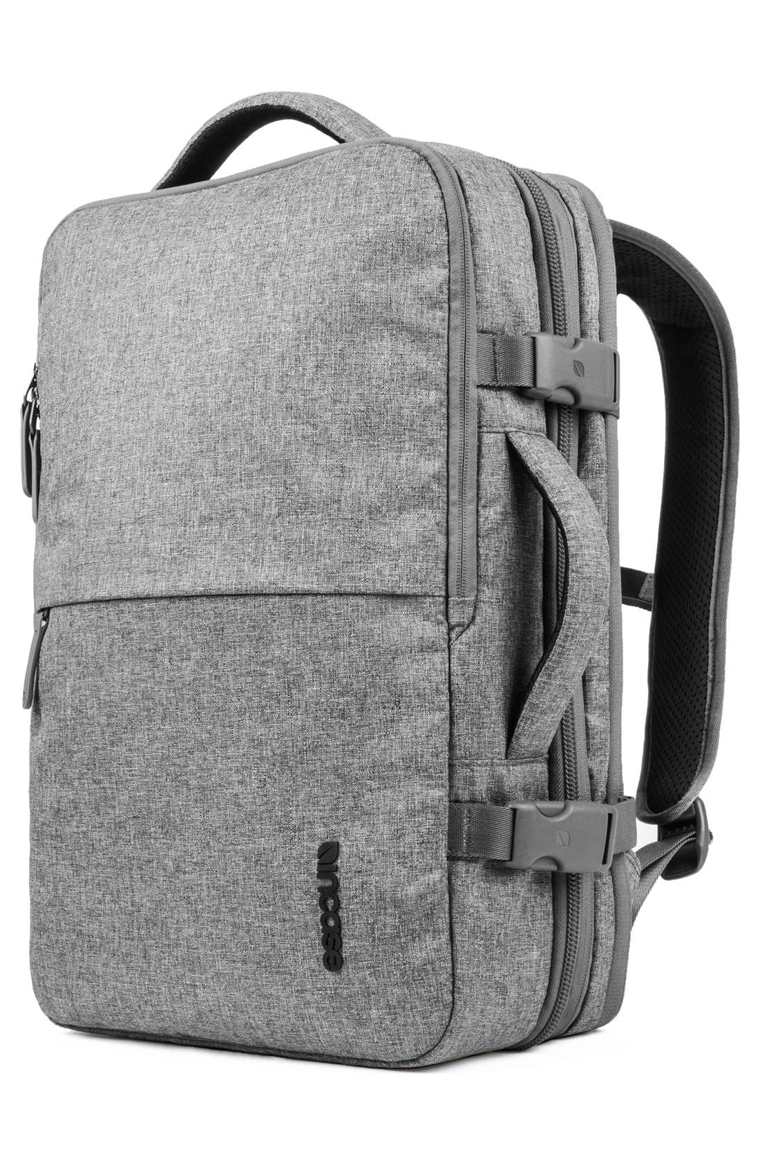 EO Travel Backpack,                             Alternate thumbnail 6, color,                             HEATHER GREY