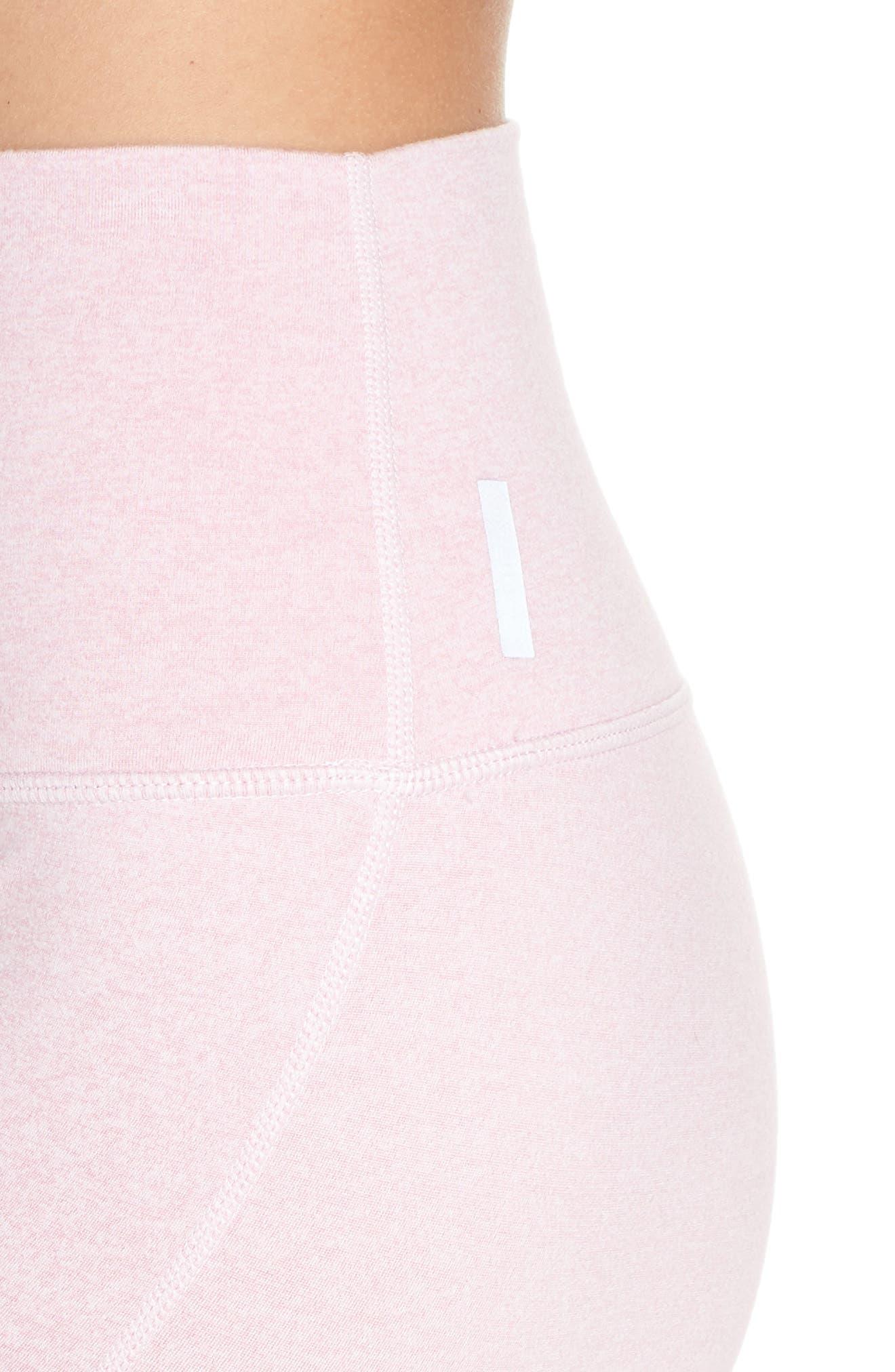 Ultrasoft Recycled High Waist Leggings,                             Alternate thumbnail 4, color,                             PURPLE FRAGRANT