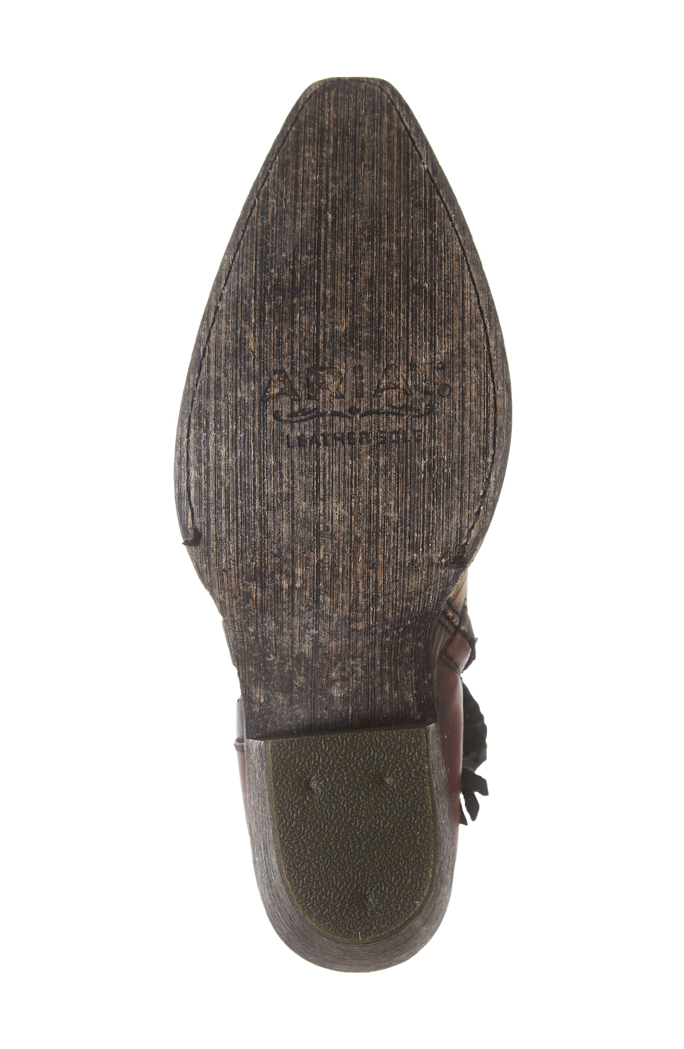 Circuit Cruz Western Boot,                             Alternate thumbnail 6, color,                             SADDLE BLANKET LEATHER