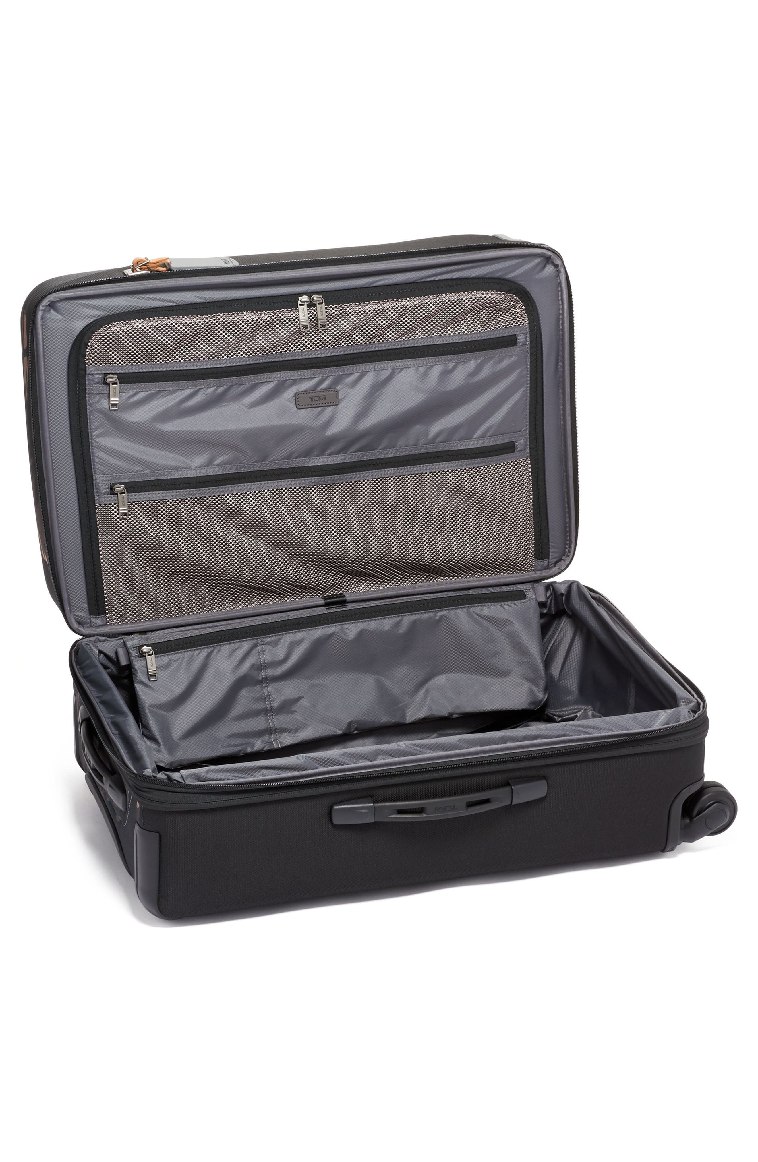 Merge Short Trip Expandable Rolling Packing Case,                             Alternate thumbnail 2, color,                             GREY HIGHLANDS PRINT