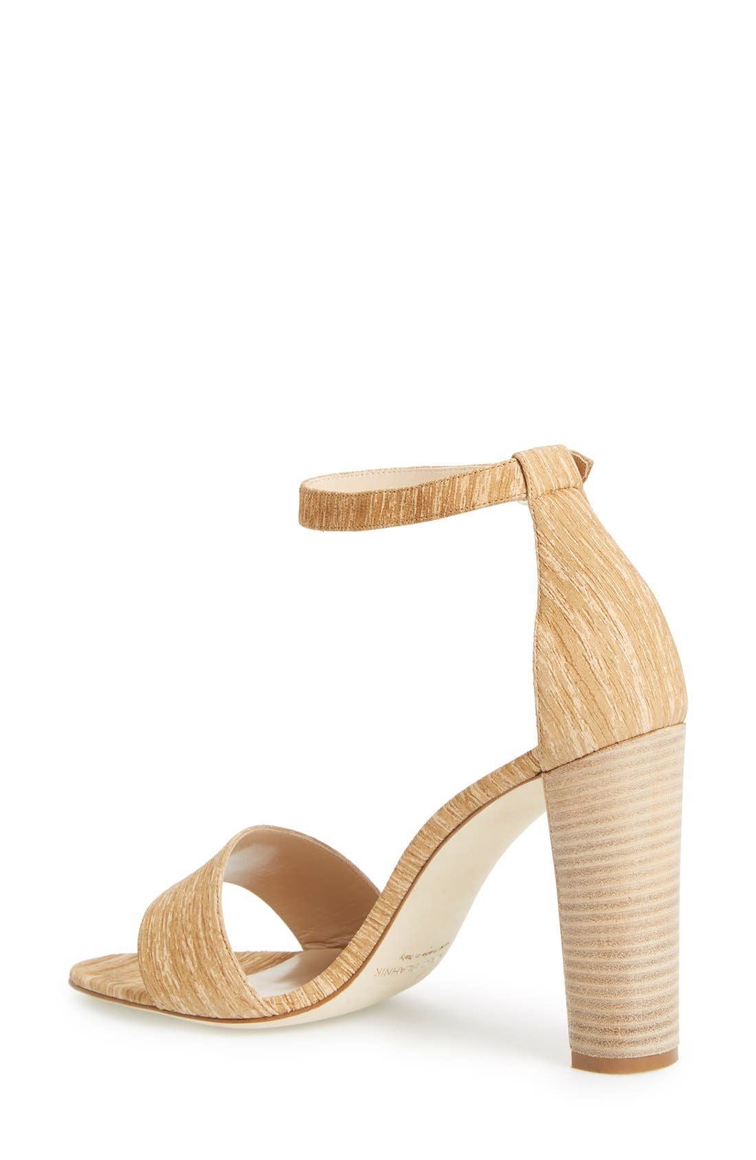 MANOLO BLAHNIK,                             'Lauratopri' Sandal,                             Alternate thumbnail 4, color,                             250