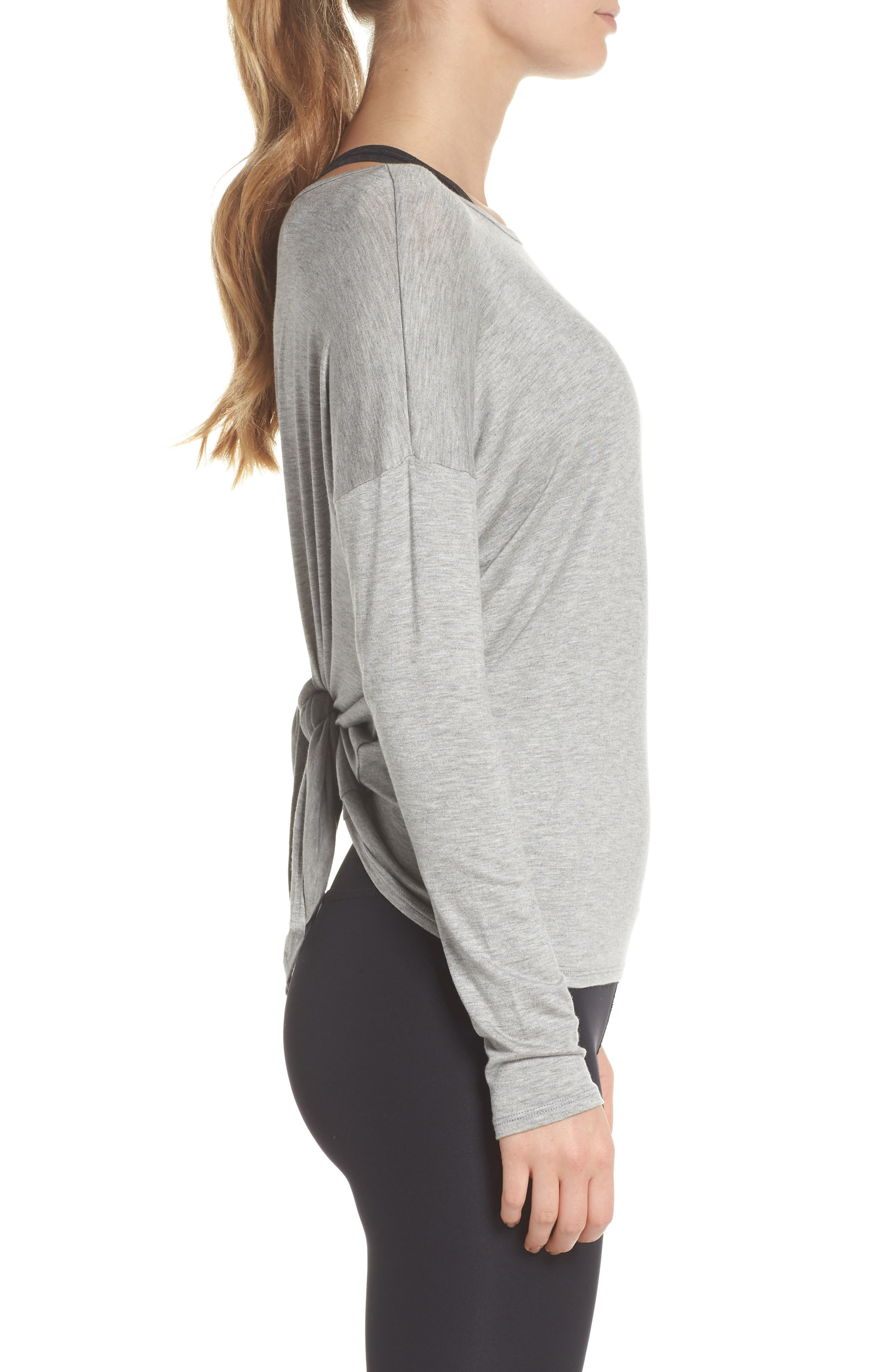 Tie Back Pullover,                             Alternate thumbnail 3, color,                             061