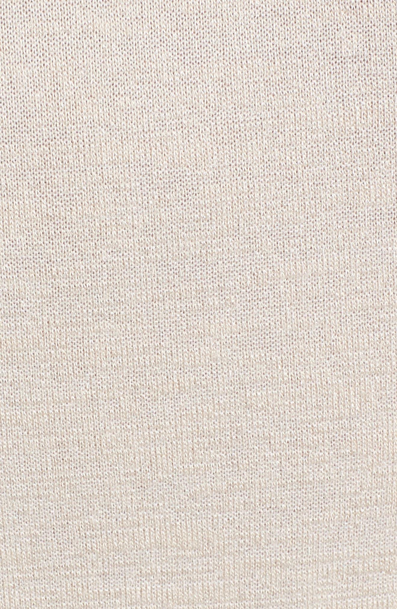 LEITH,                             Flare Sleeve Cinch Top,                             Alternate thumbnail 5, color,                             050