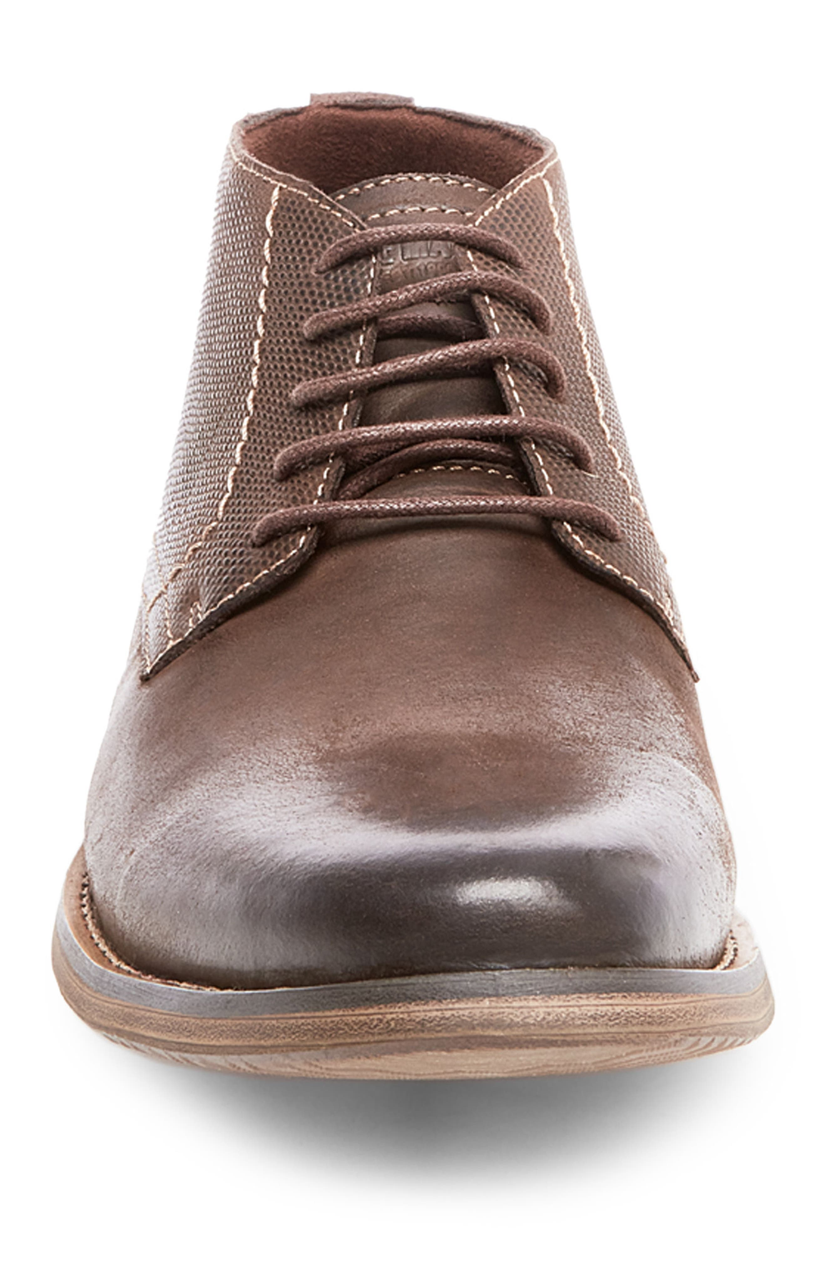 Pieter Leather Chukka Boot,                             Alternate thumbnail 4, color,