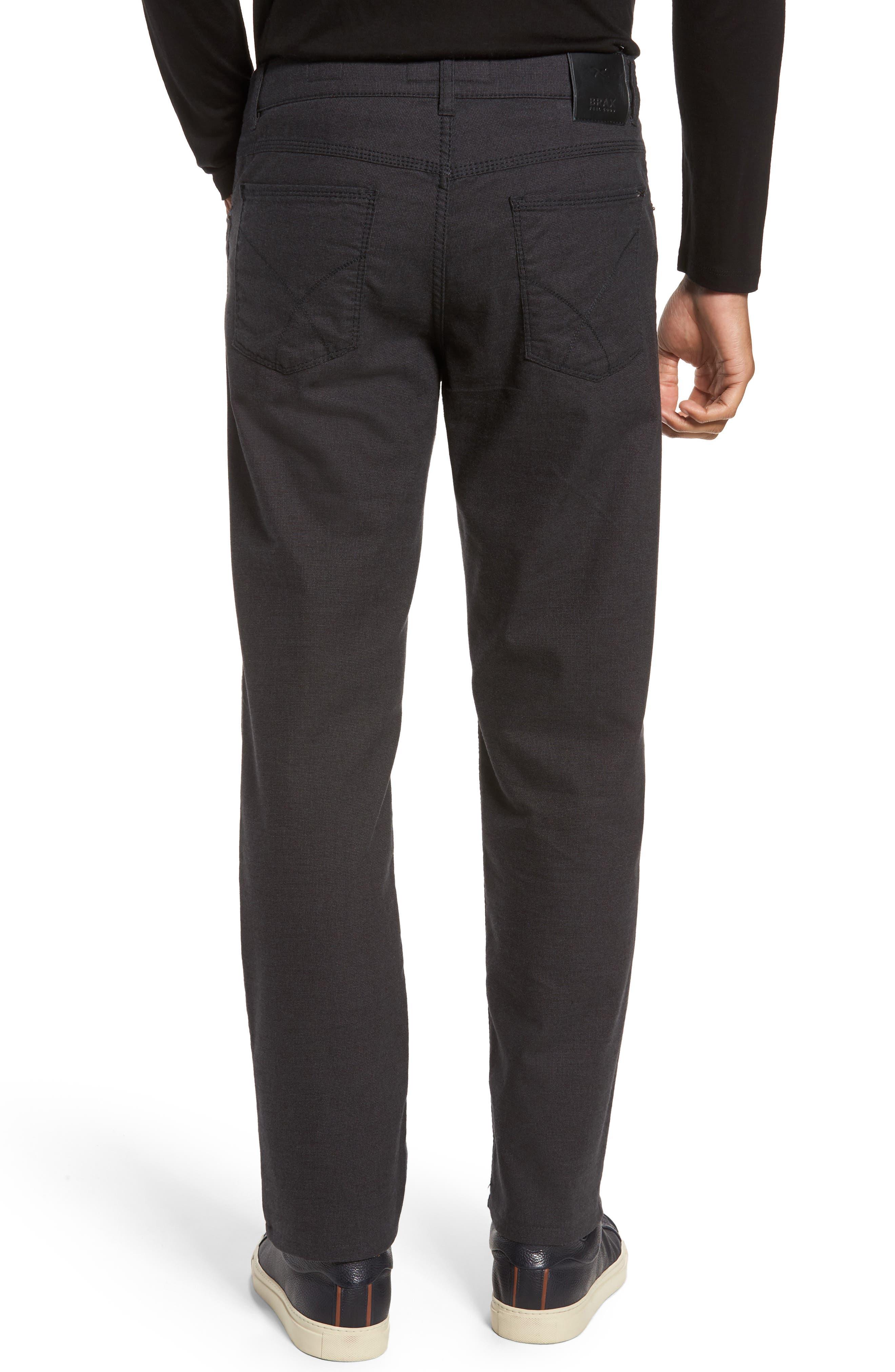 Five-Pocket Stretch Cotton Trousers,                             Alternate thumbnail 6, color,