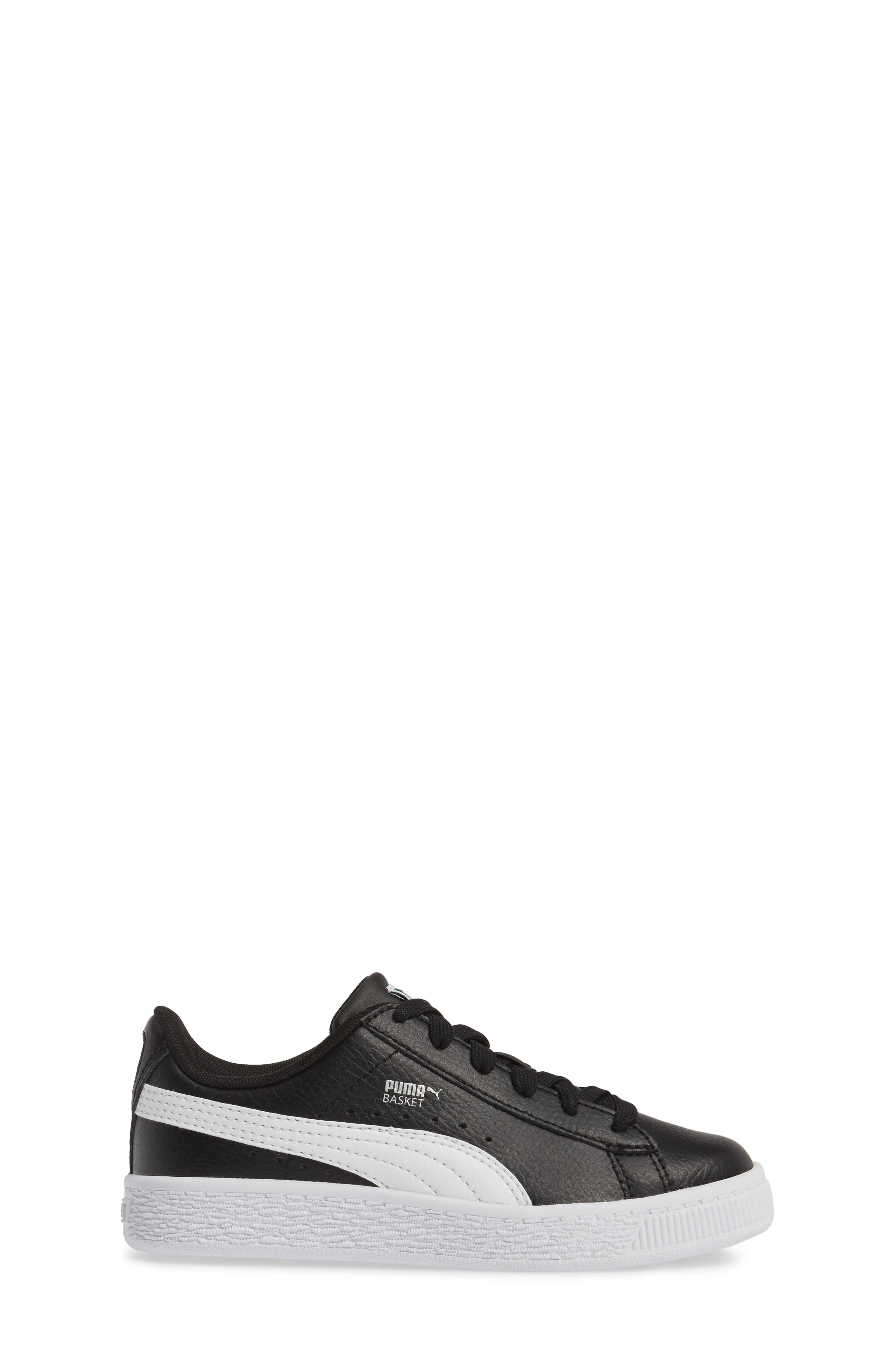 Basket Classic PS Sneaker,                             Alternate thumbnail 3, color,                             001