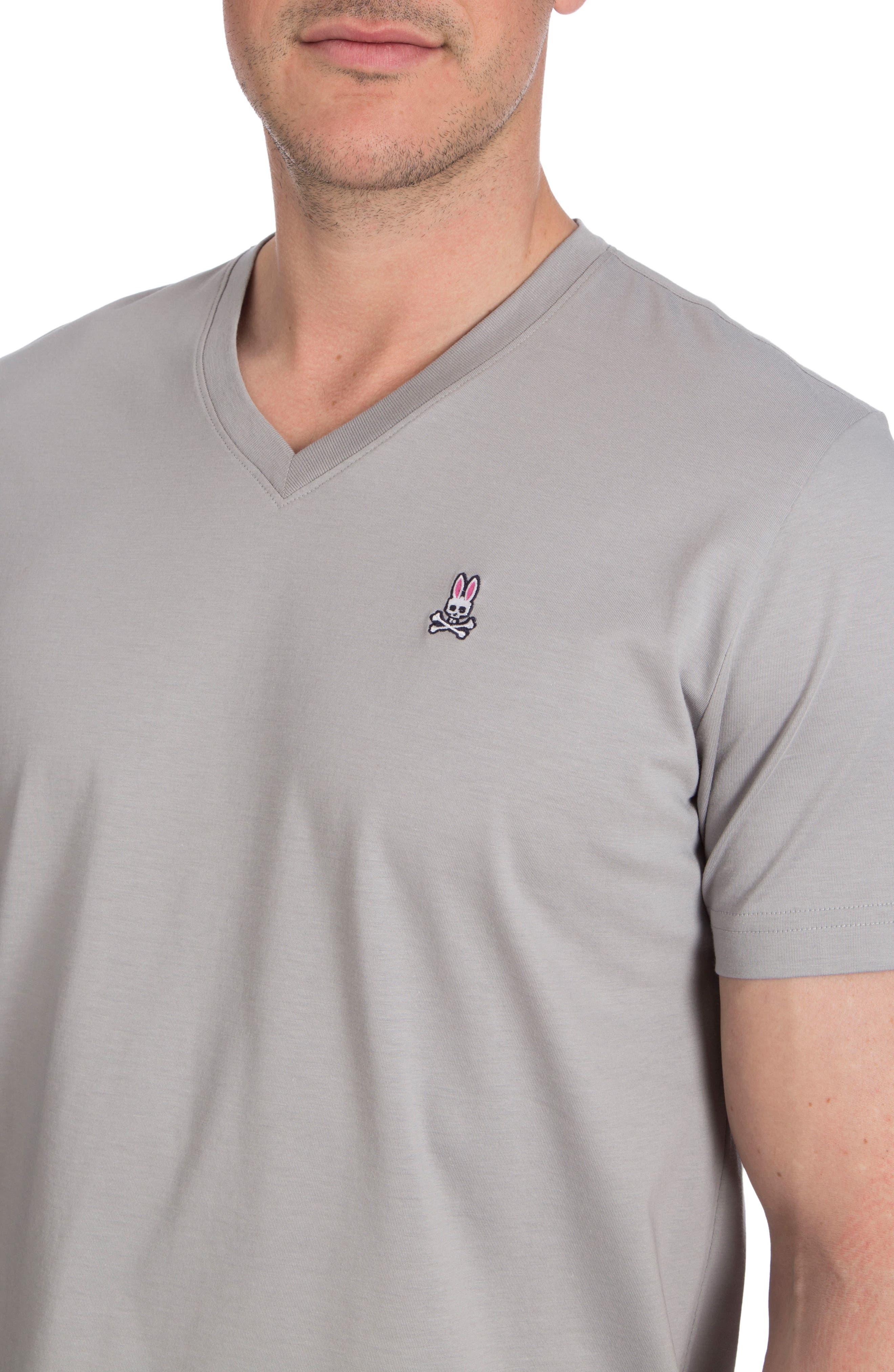 V-Neck T-Shirt,                             Alternate thumbnail 3, color,                             050