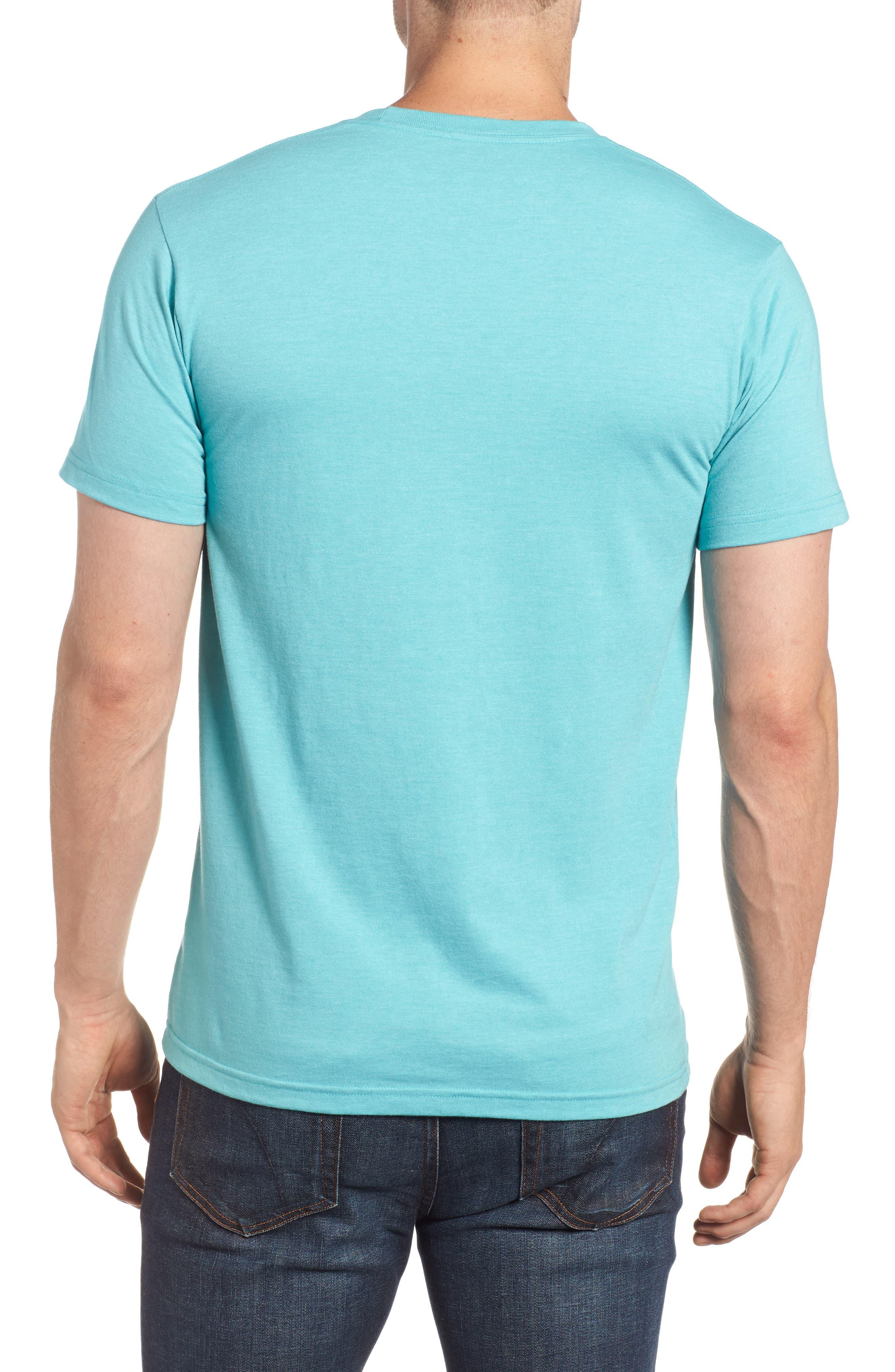 'Fitz Roy Crest' Slim Fit Organic Cotton Blend T-Shirt,                             Alternate thumbnail 9, color,