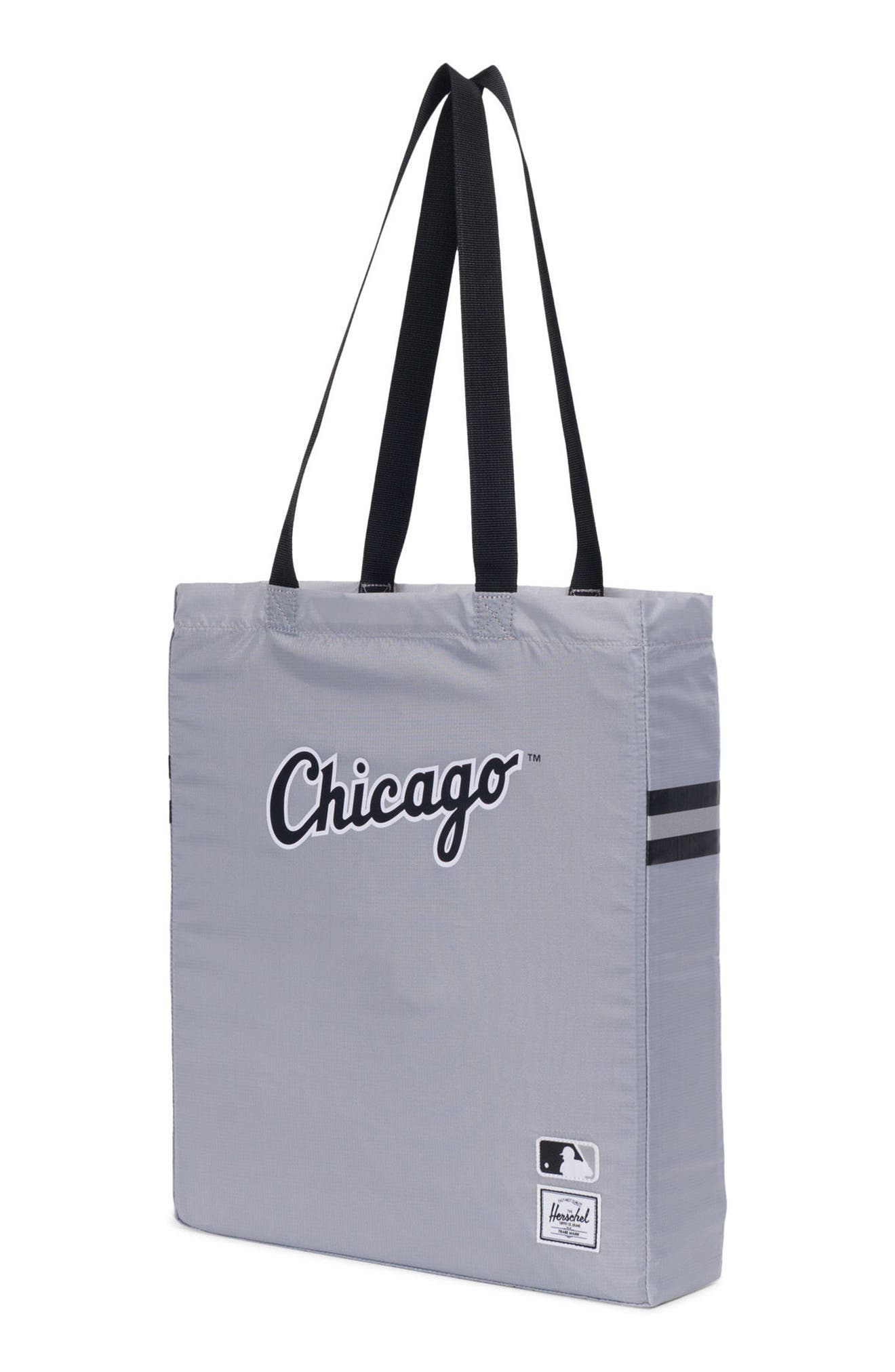 Packable - MLB American League Tote Bag,                             Alternate thumbnail 3, color,                             CHICAGO WHITE SOX