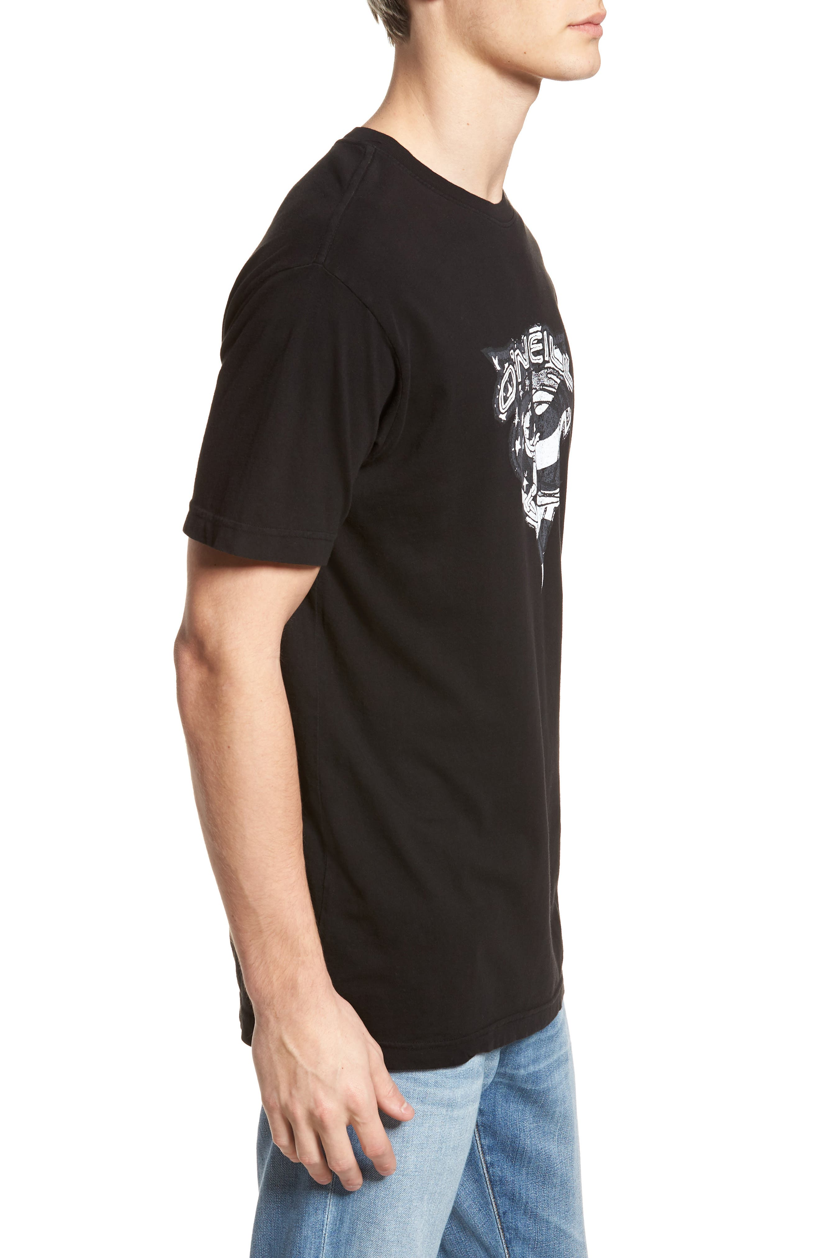 Patriot Graphic T-Shirt,                             Alternate thumbnail 3, color,                             001