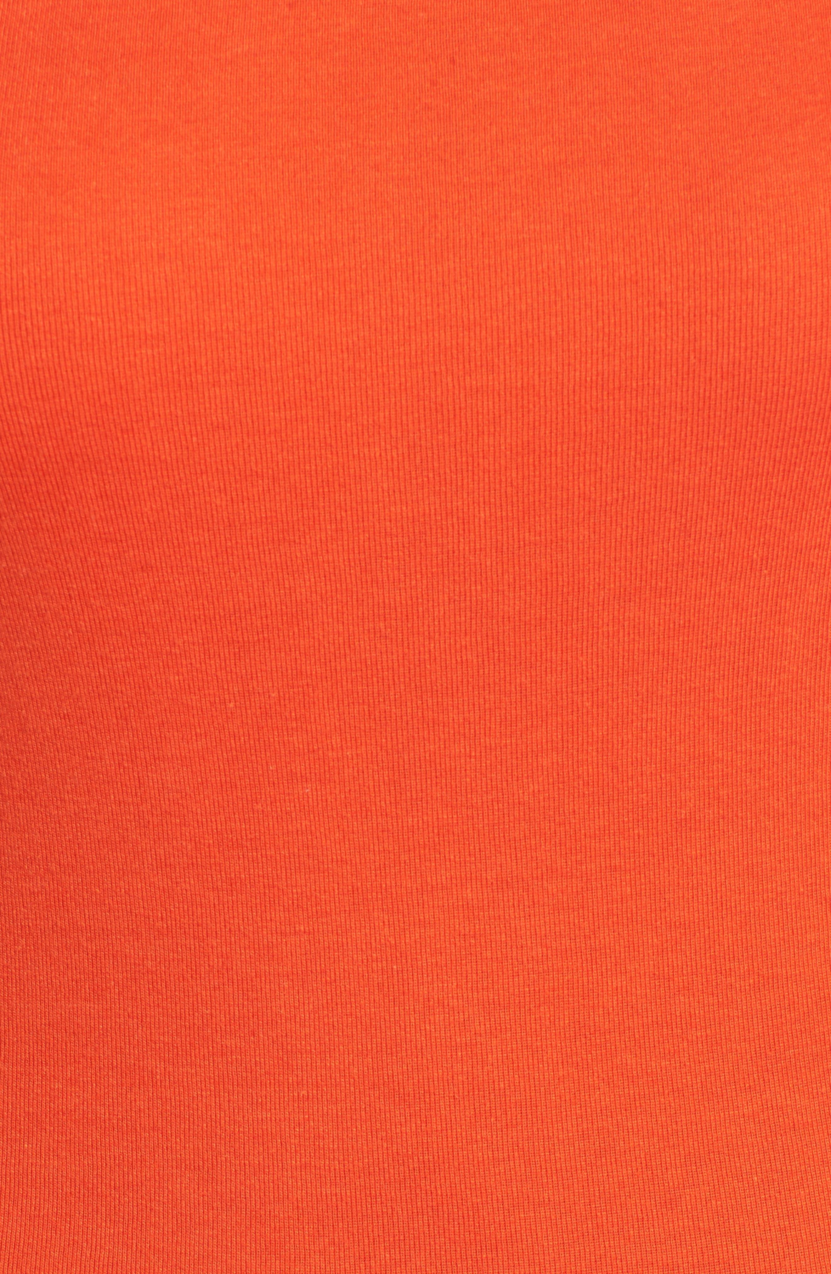 Three Quarter Sleeve Tee,                             Alternate thumbnail 109, color,
