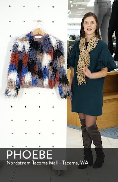 Shaggy Faux Fur Jacket, sales video thumbnail