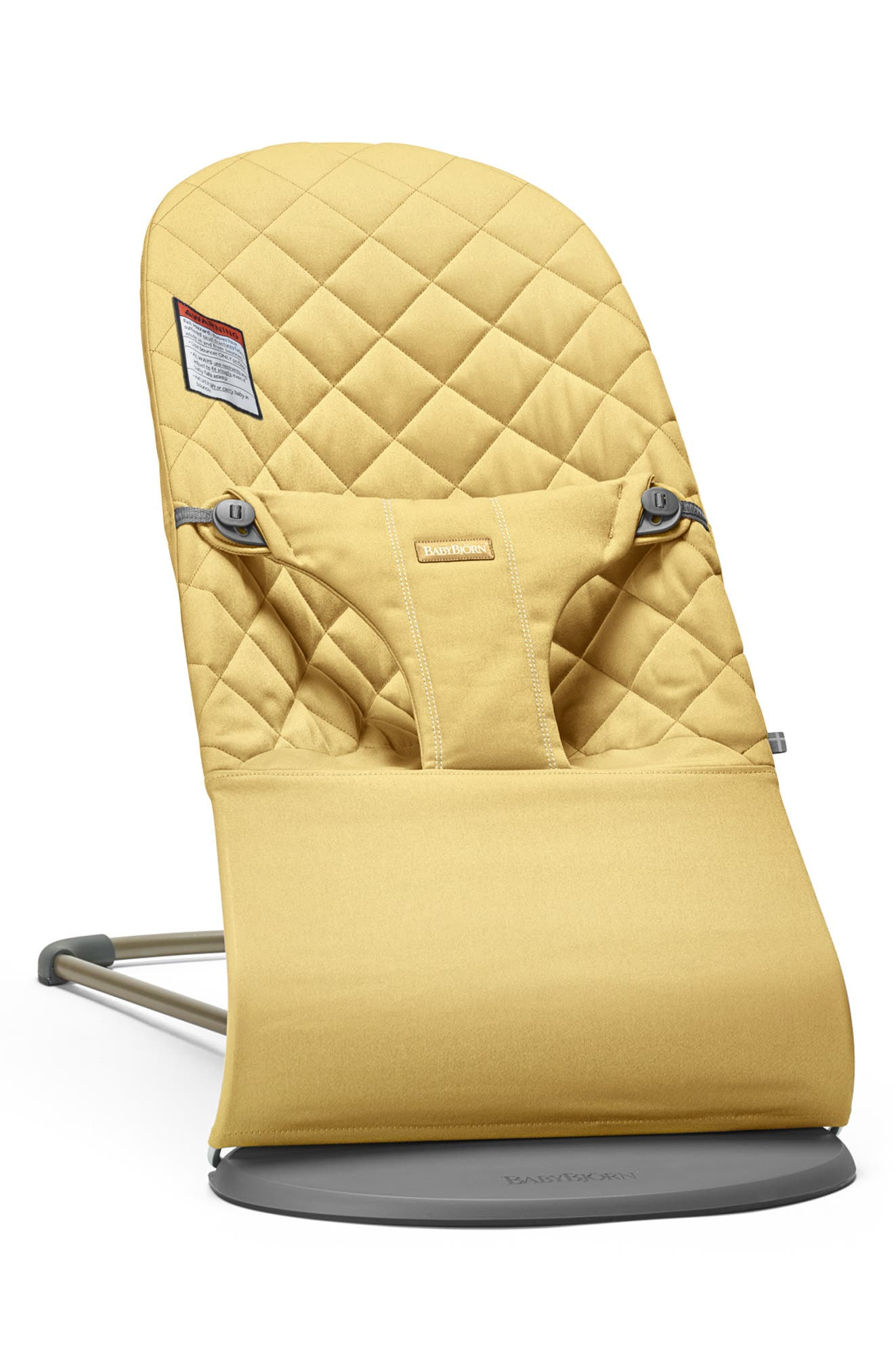 Infant Babybjorn Bouncer Bliss Convertible Quilted Baby Bouncer Size One Size  Yellow