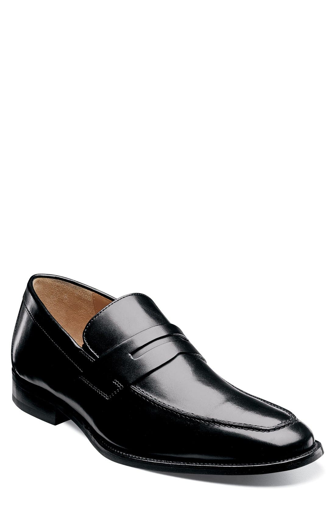'Sabato' Penny Loafer,                             Main thumbnail 1, color,