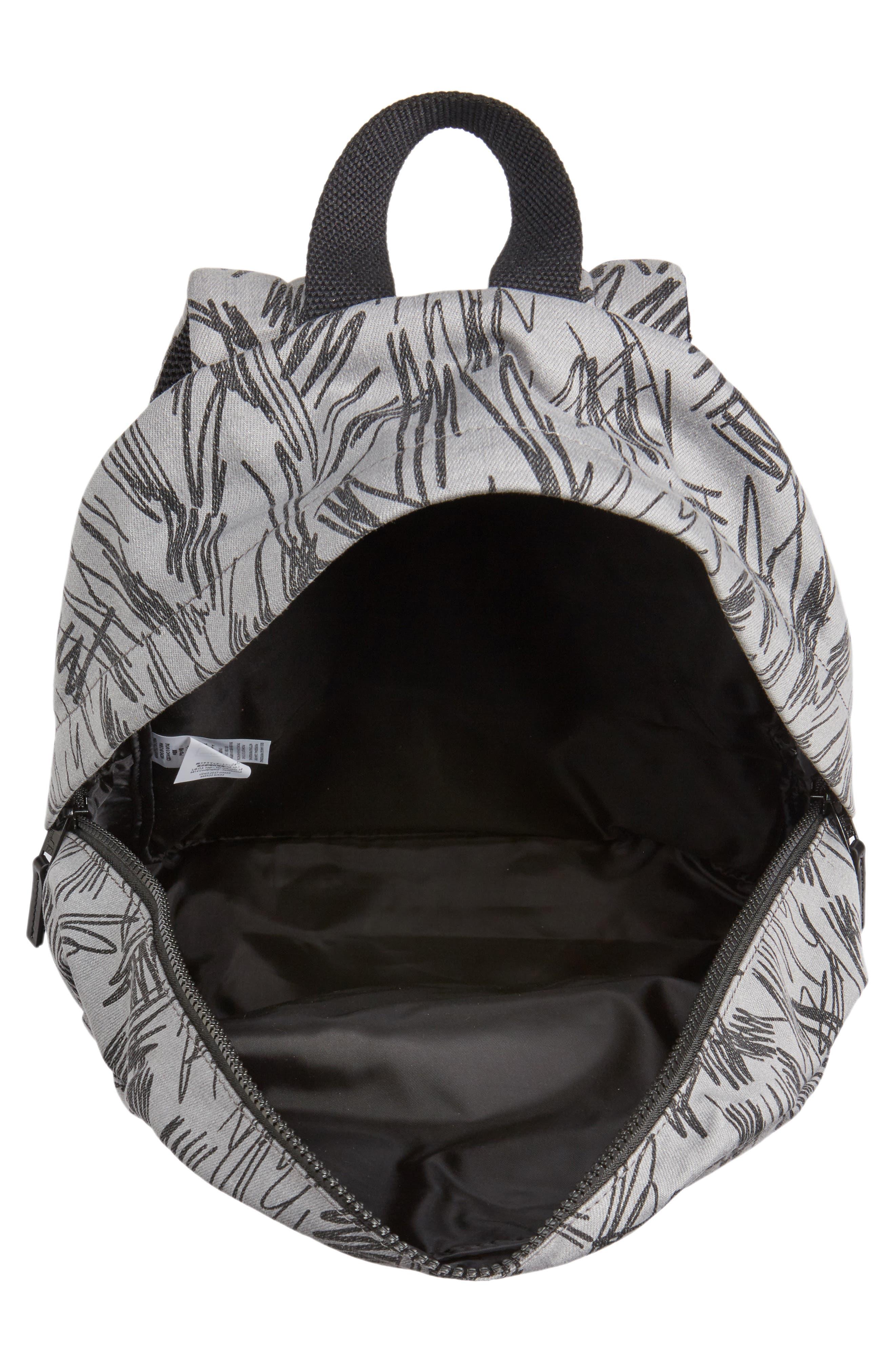 Scribble Print Backpack,                             Alternate thumbnail 3, color,                             020