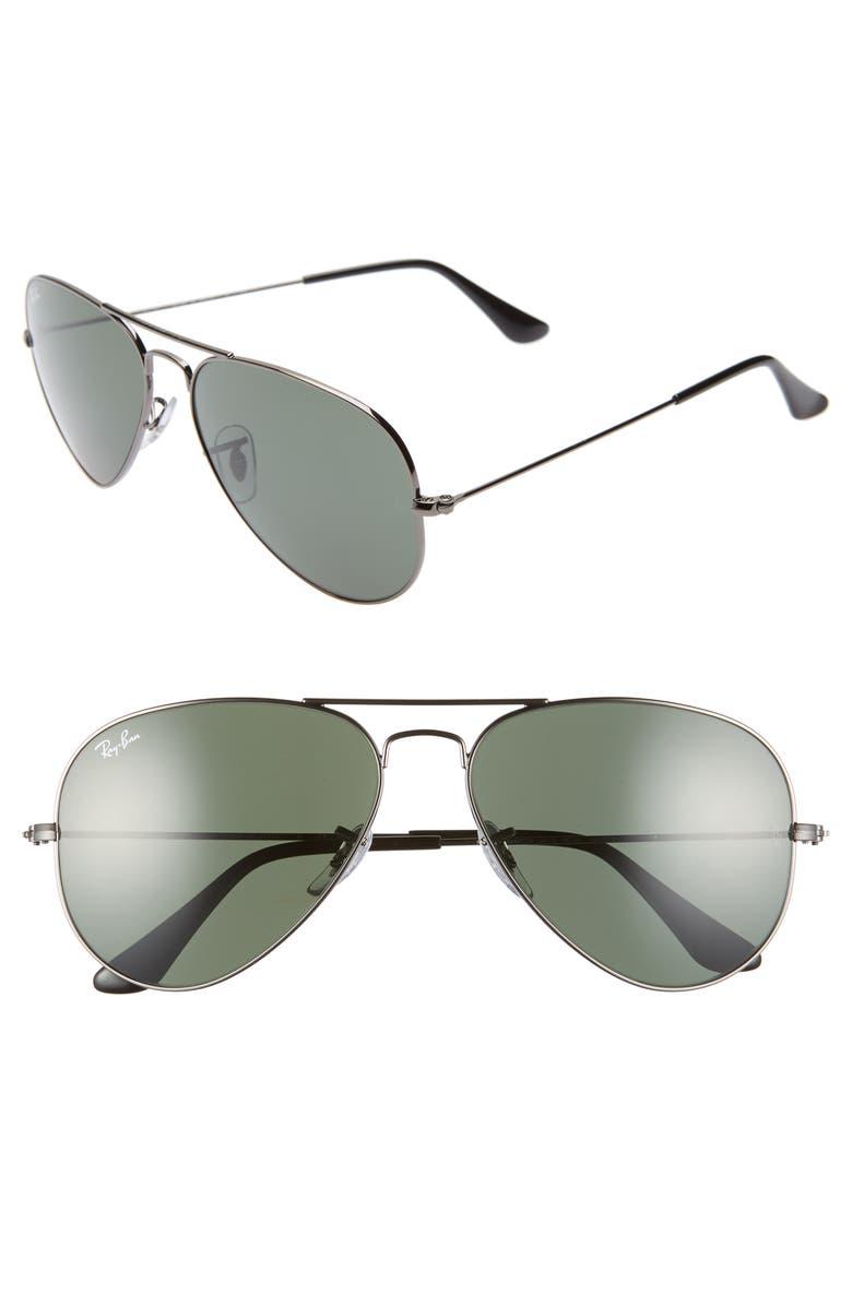 3d43b4c71e2 Ray-Ban Standard Original 58mm Aviator Sunglasses