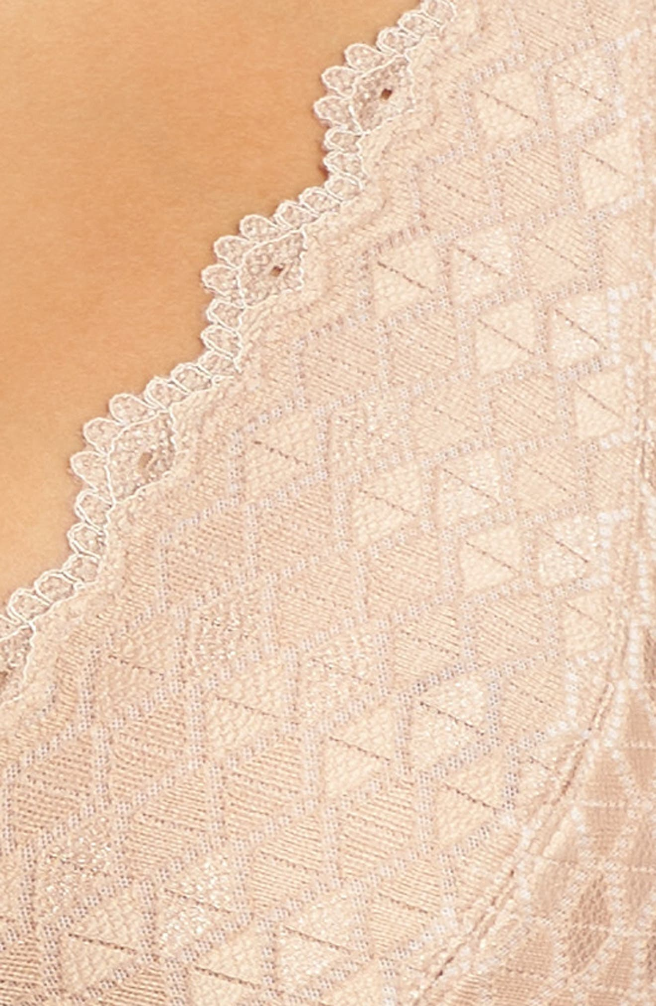 b.tempted by Wacoal Plunge Lace Bralette,                             Alternate thumbnail 14, color,