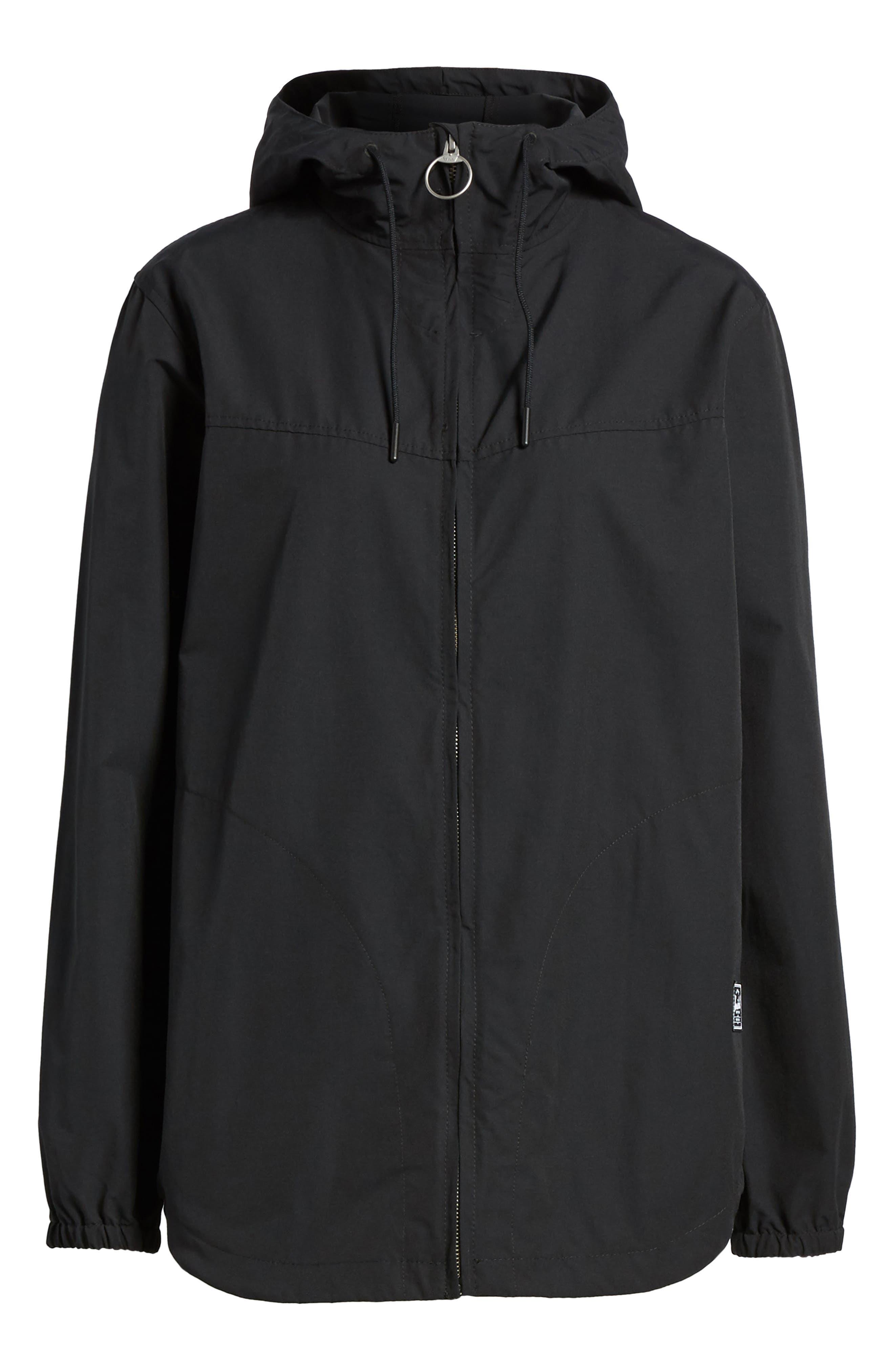 Hooded Jacket,                             Alternate thumbnail 6, color,                             001