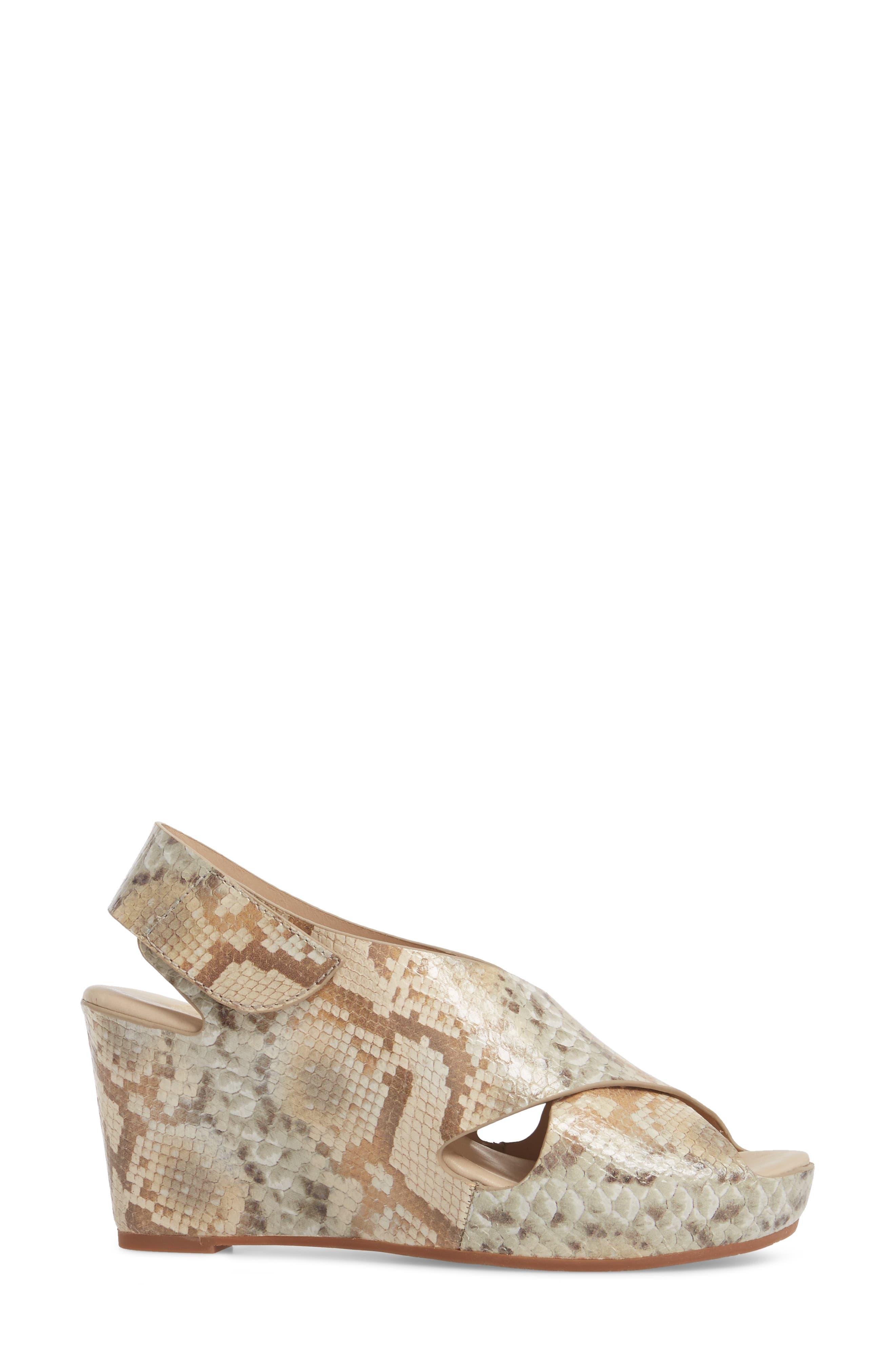 'Tori' Wedge Sandal,                             Alternate thumbnail 3, color,                             251