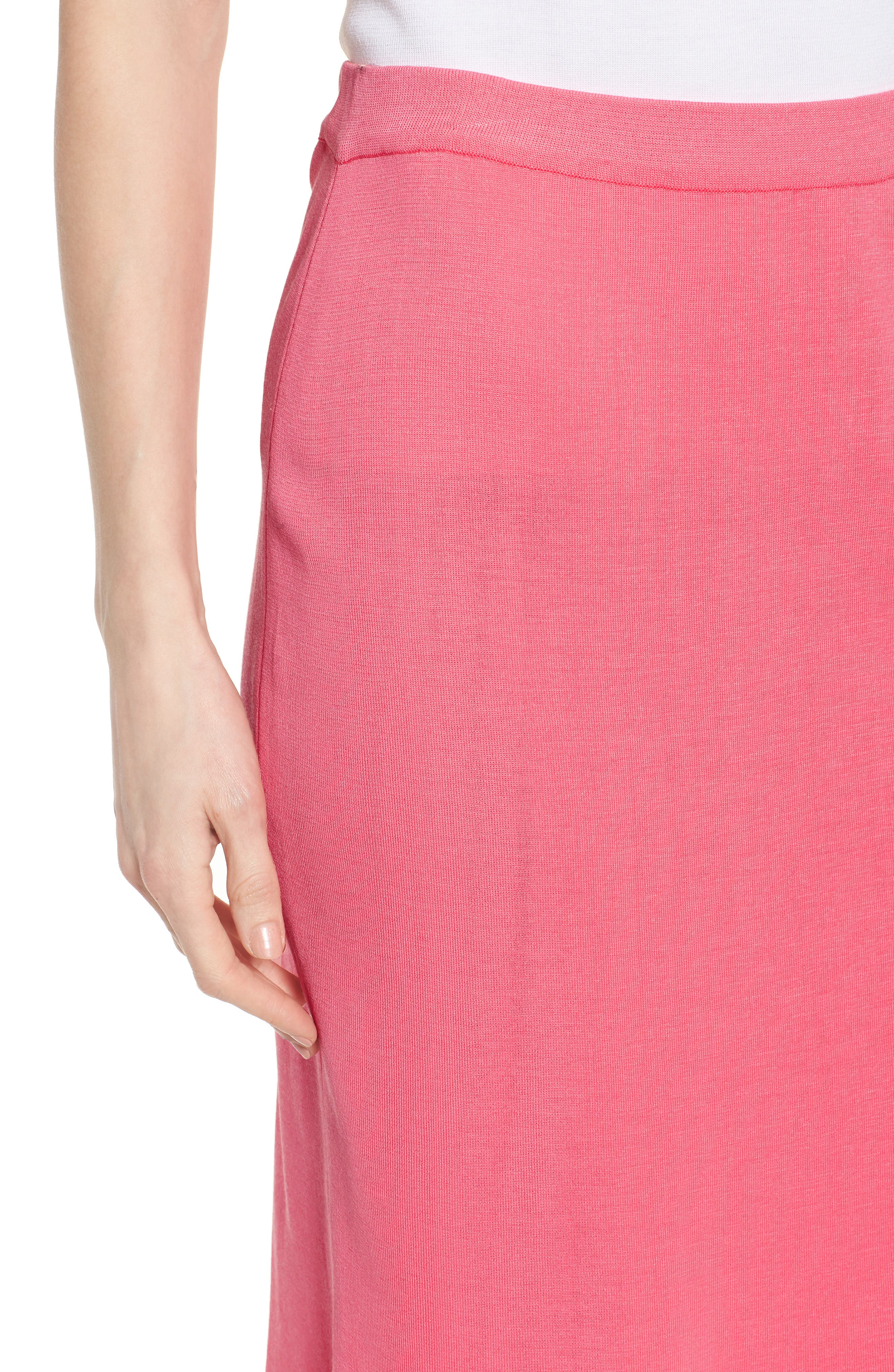 Straight Skirt,                             Alternate thumbnail 4, color,                             PINK LEMONADE