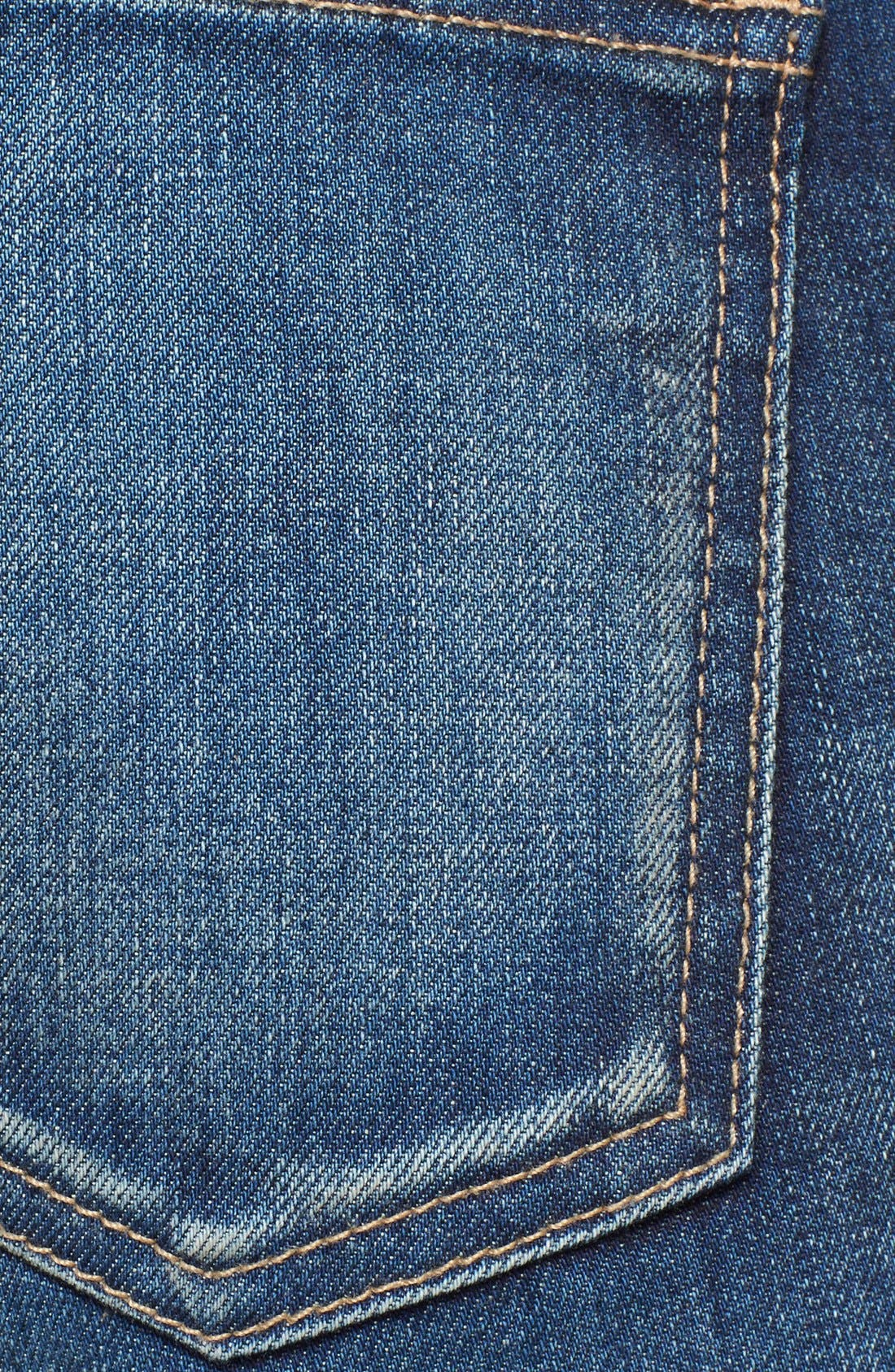 'The Stiletto' Destroyed Skinny Jeans,                             Alternate thumbnail 30, color,