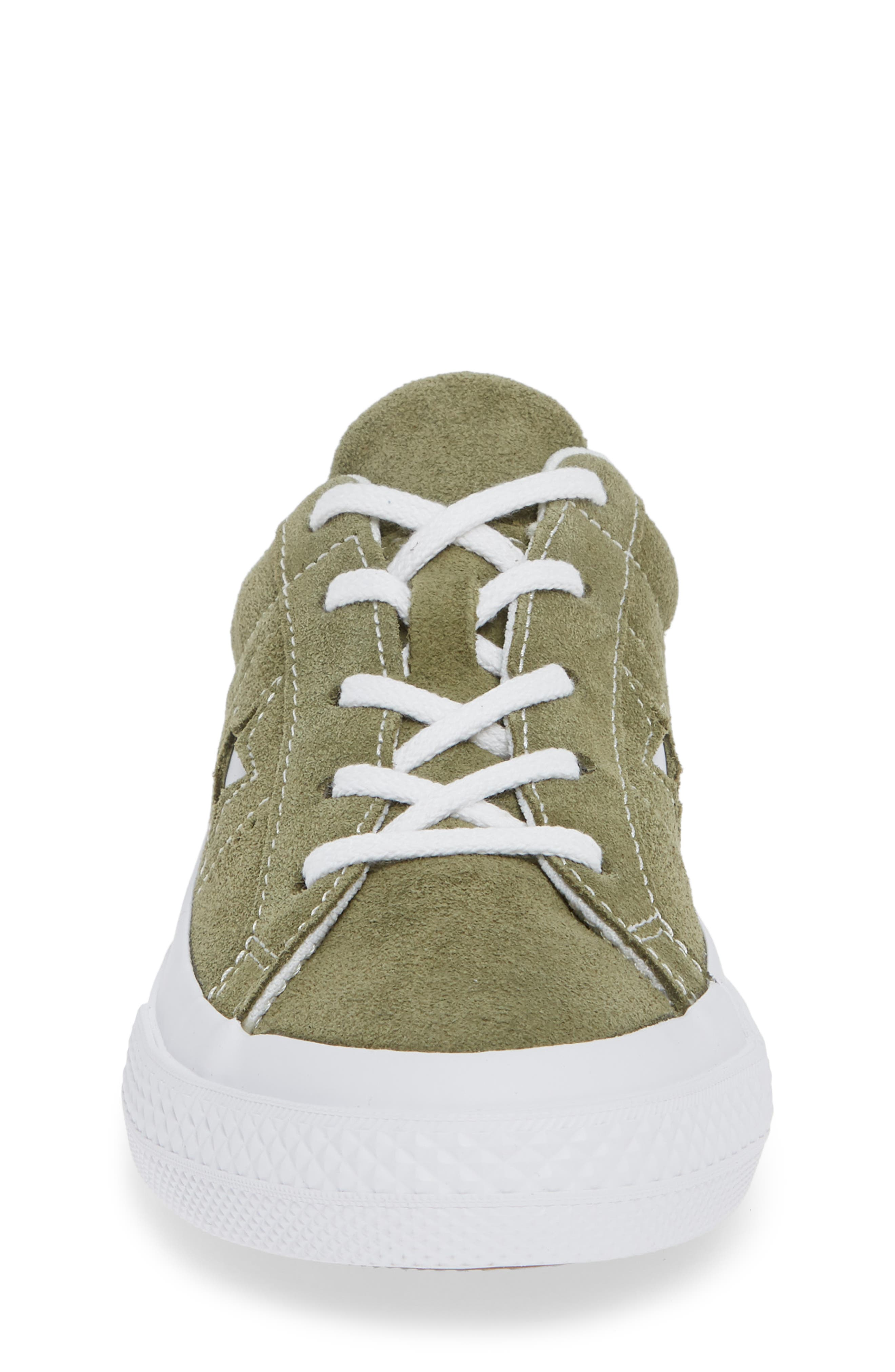 One Star Vintage Suede Low Top Sneaker,                             Alternate thumbnail 4, color,                             322