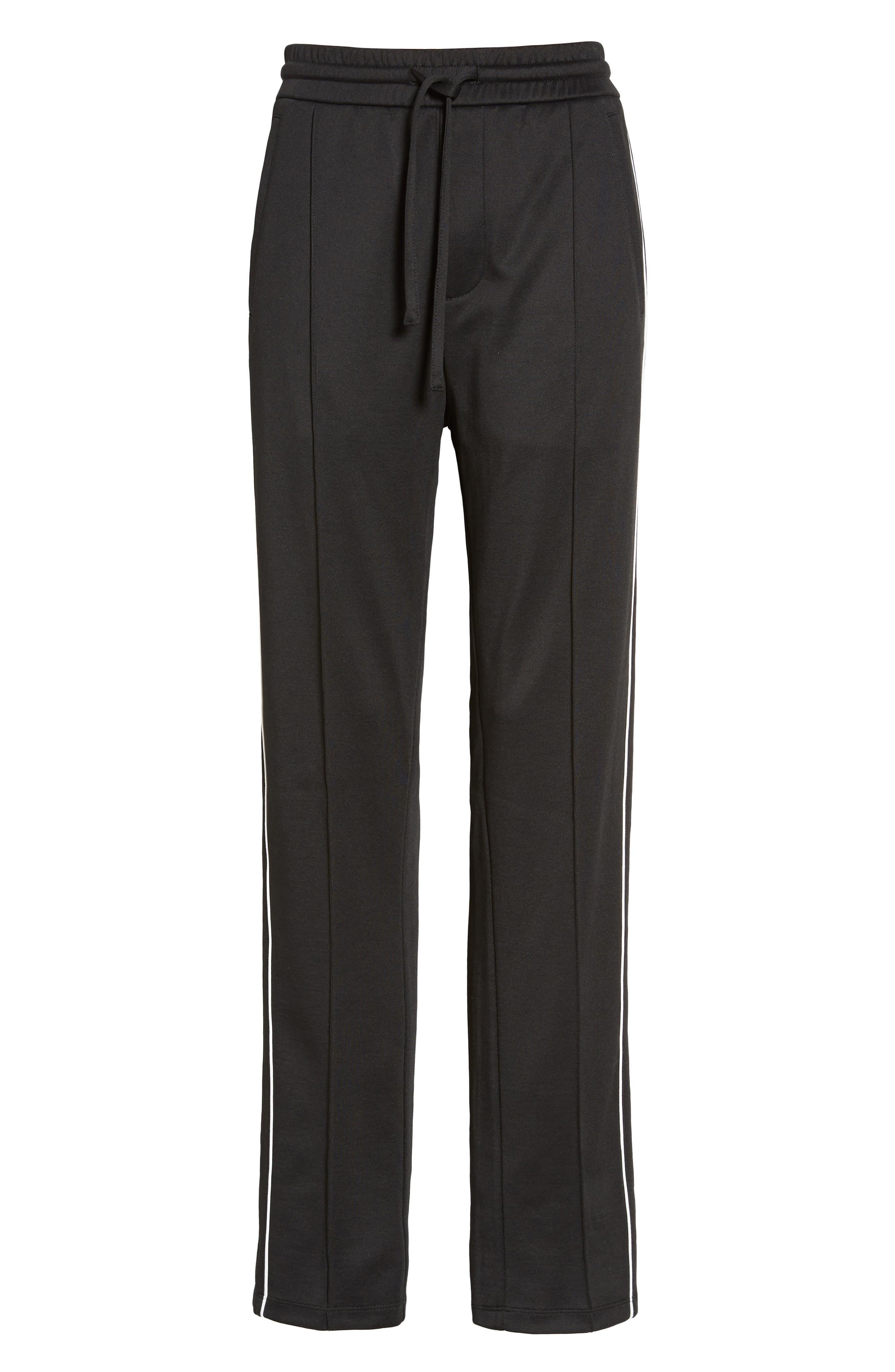 Slim Fit Track Pants,                             Alternate thumbnail 6, color,                             001