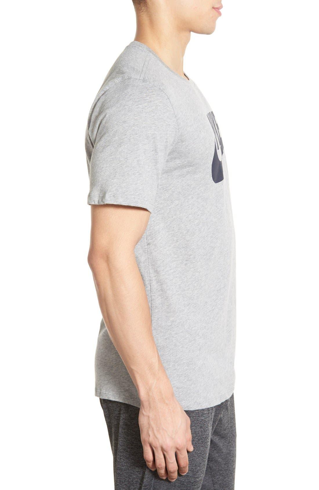 'Tee-Futura Icon' Graphic T-Shirt,                             Alternate thumbnail 52, color,