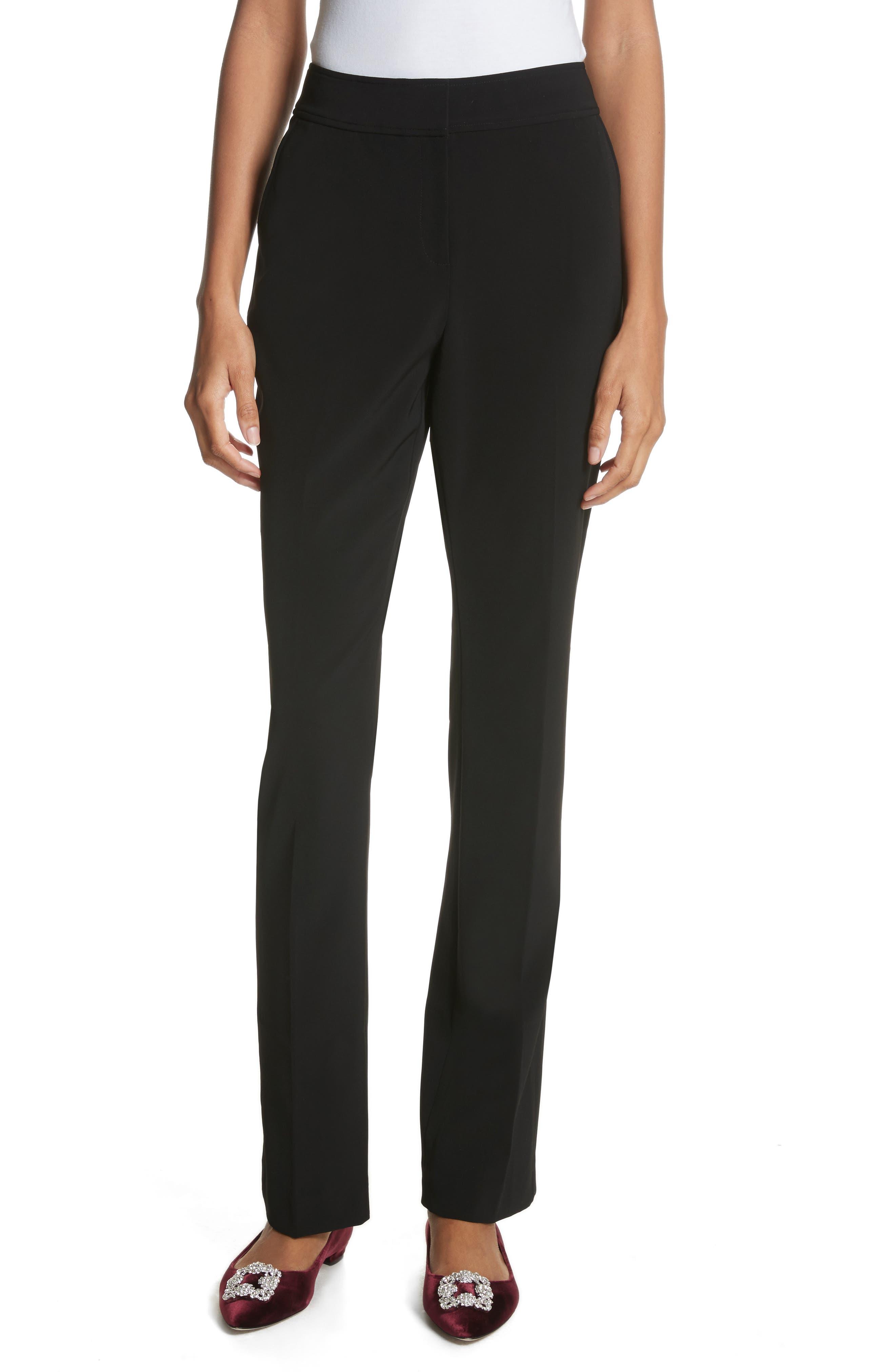 Yulit High Waist Trousers,                             Main thumbnail 1, color,                             001