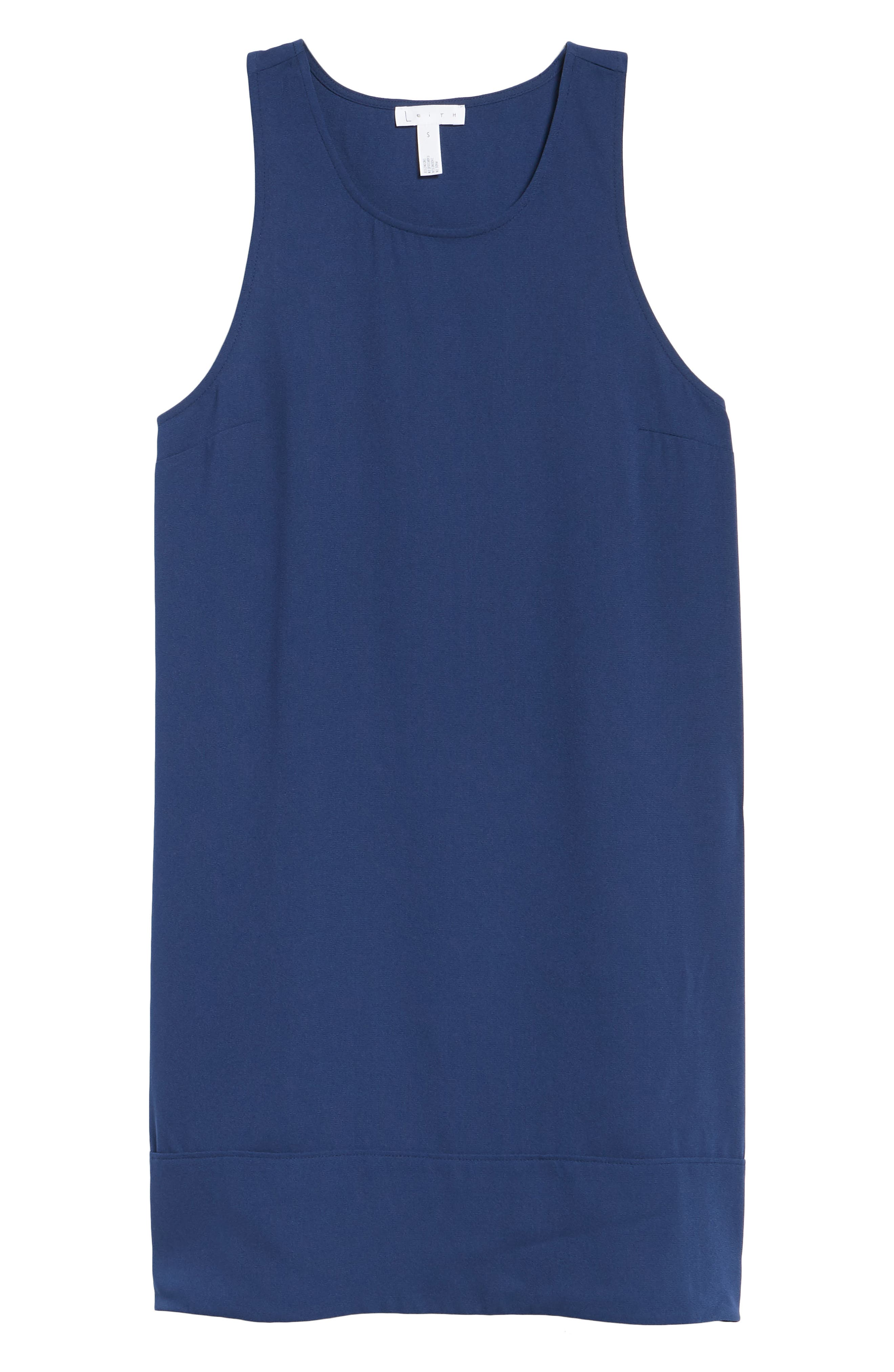 Racerback Shift Dress,                             Alternate thumbnail 208, color,