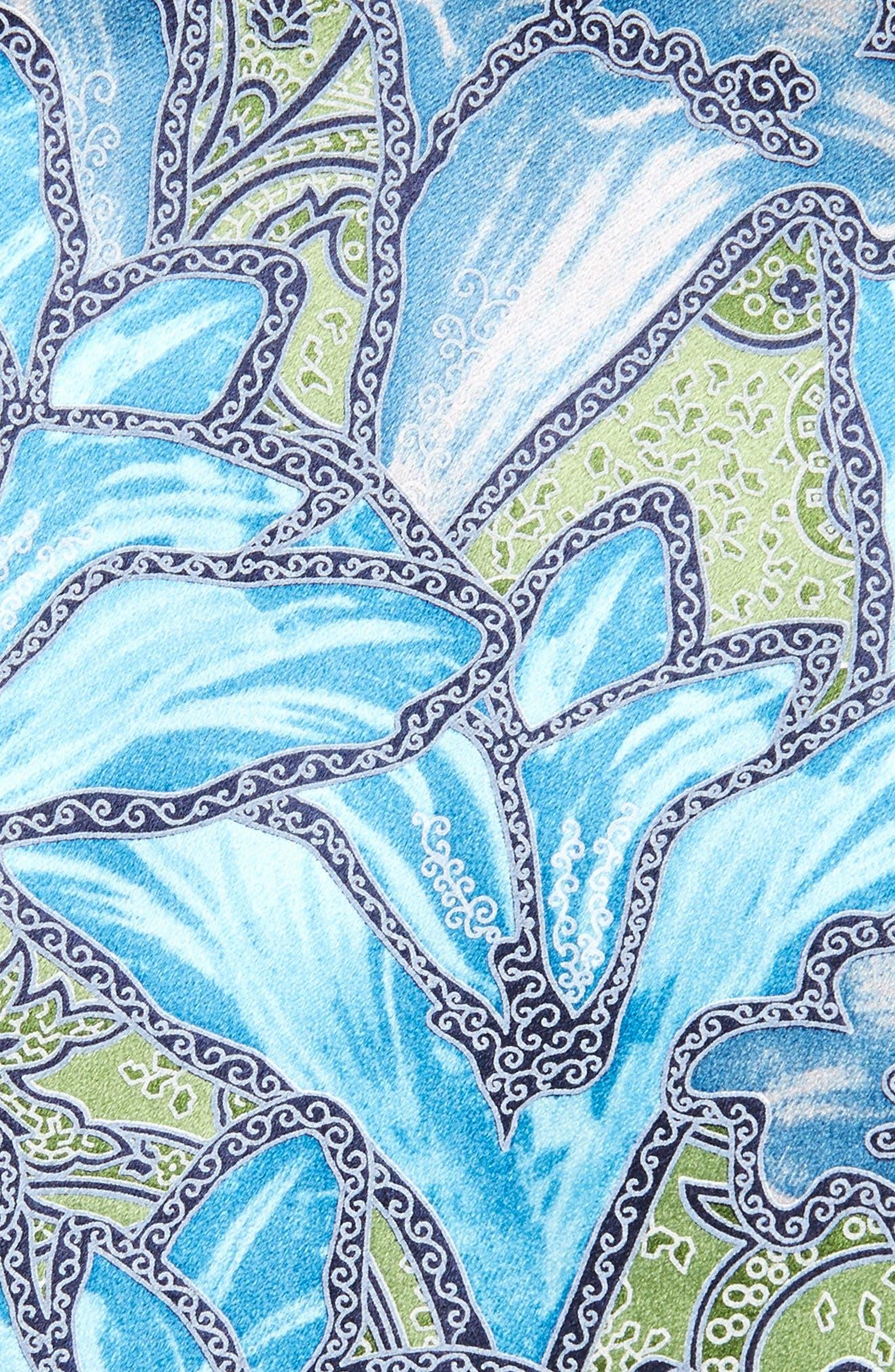 Floral Silk Tie,                             Alternate thumbnail 2, color,                             318