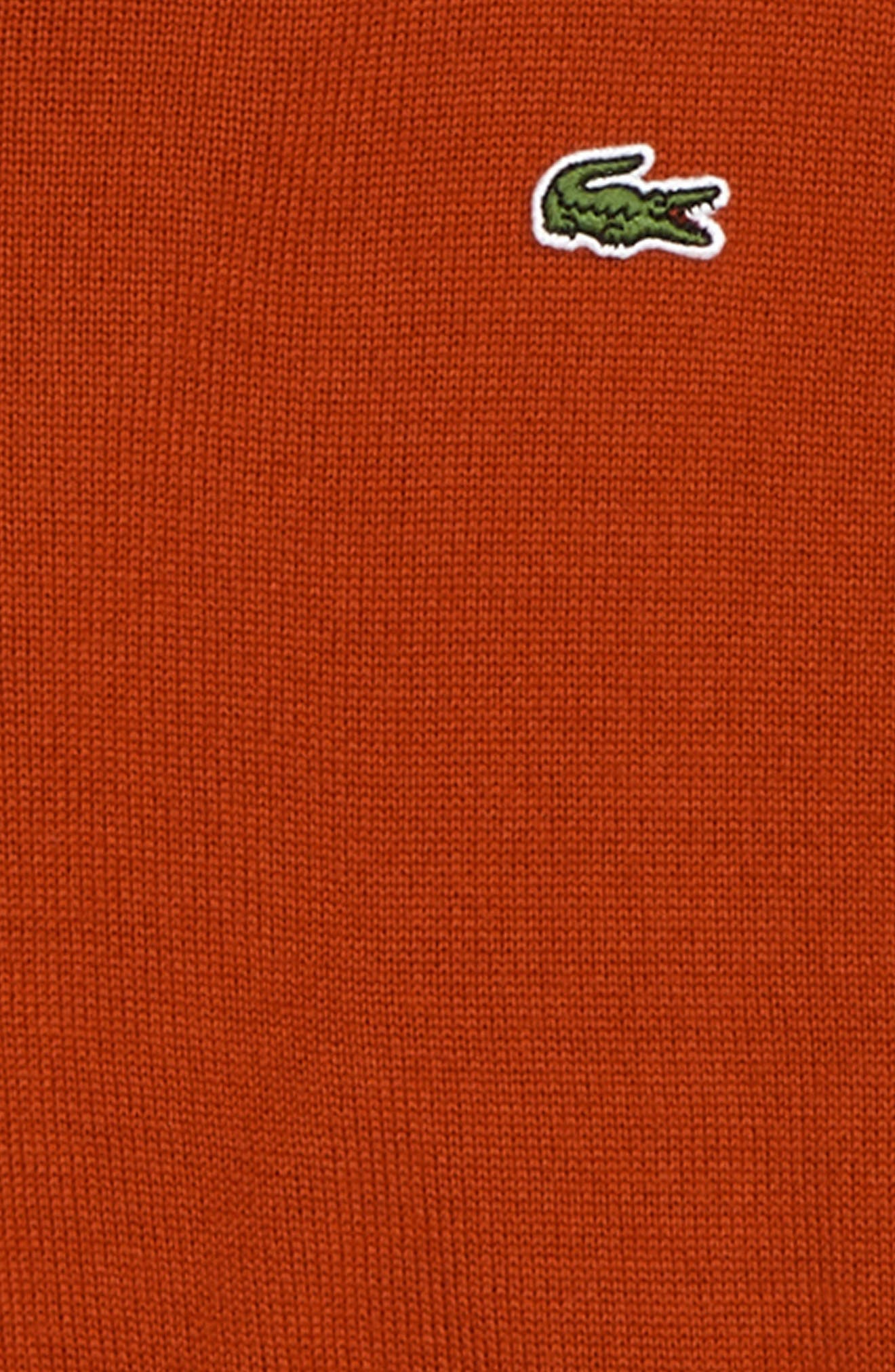 Crewneck Sweater,                             Alternate thumbnail 2, color,                             LIGHTHOUSE RED