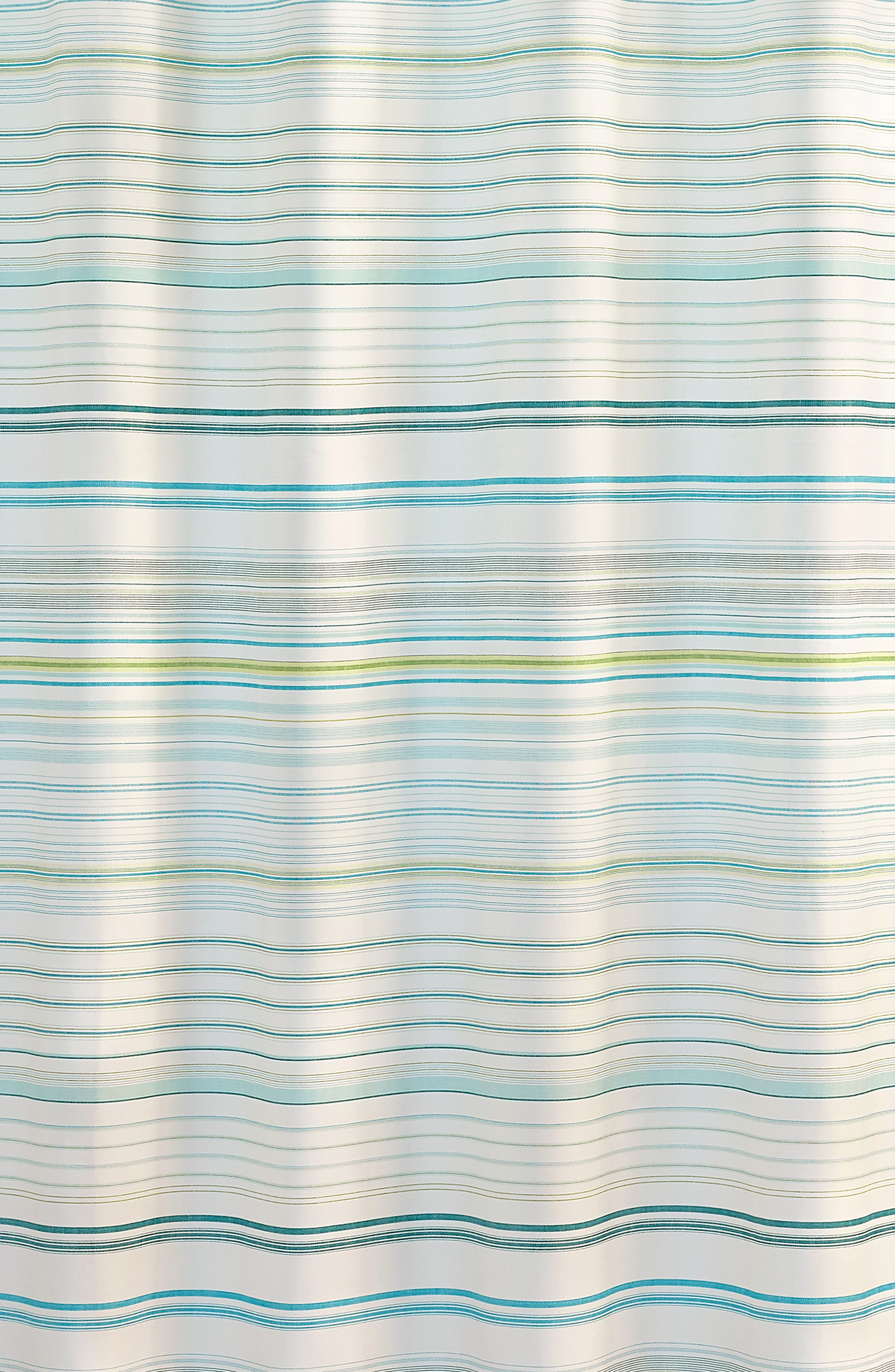 TOMMY BAHAMA,                             La Scala Breezer Shower Curtain,                             Alternate thumbnail 2, color,                             PASTEL GREEN