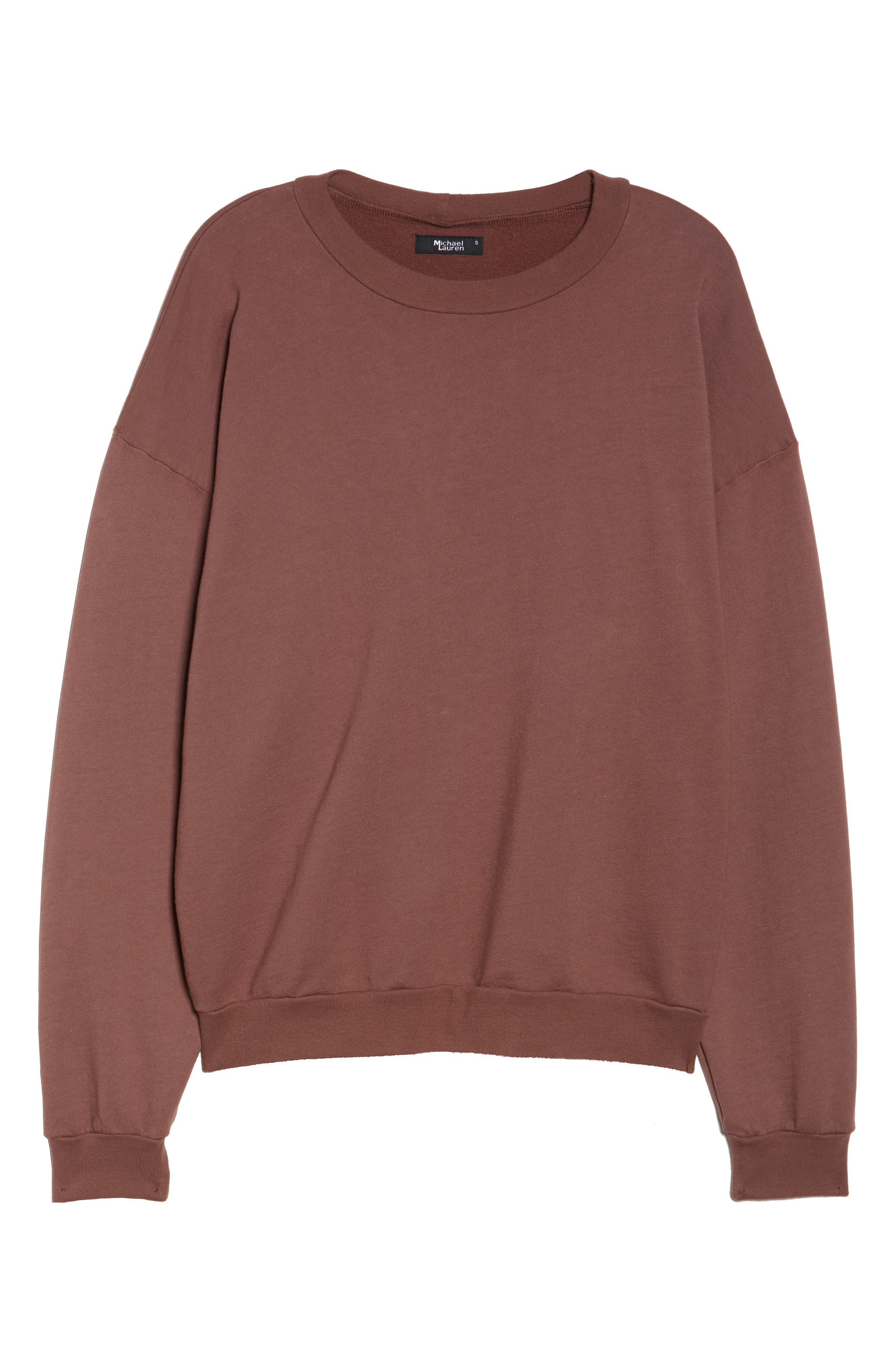 Ellstan Oversize Boyfriend Sweatshirt,                             Alternate thumbnail 12, color,