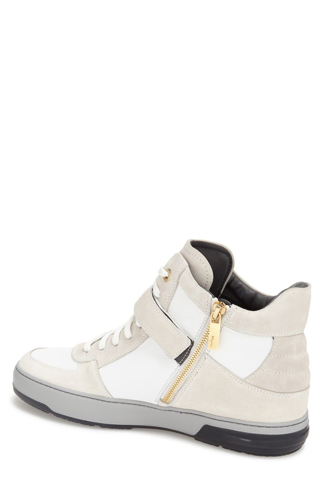 'Nayon' High Top Sneaker,                             Alternate thumbnail 2, color,                             286