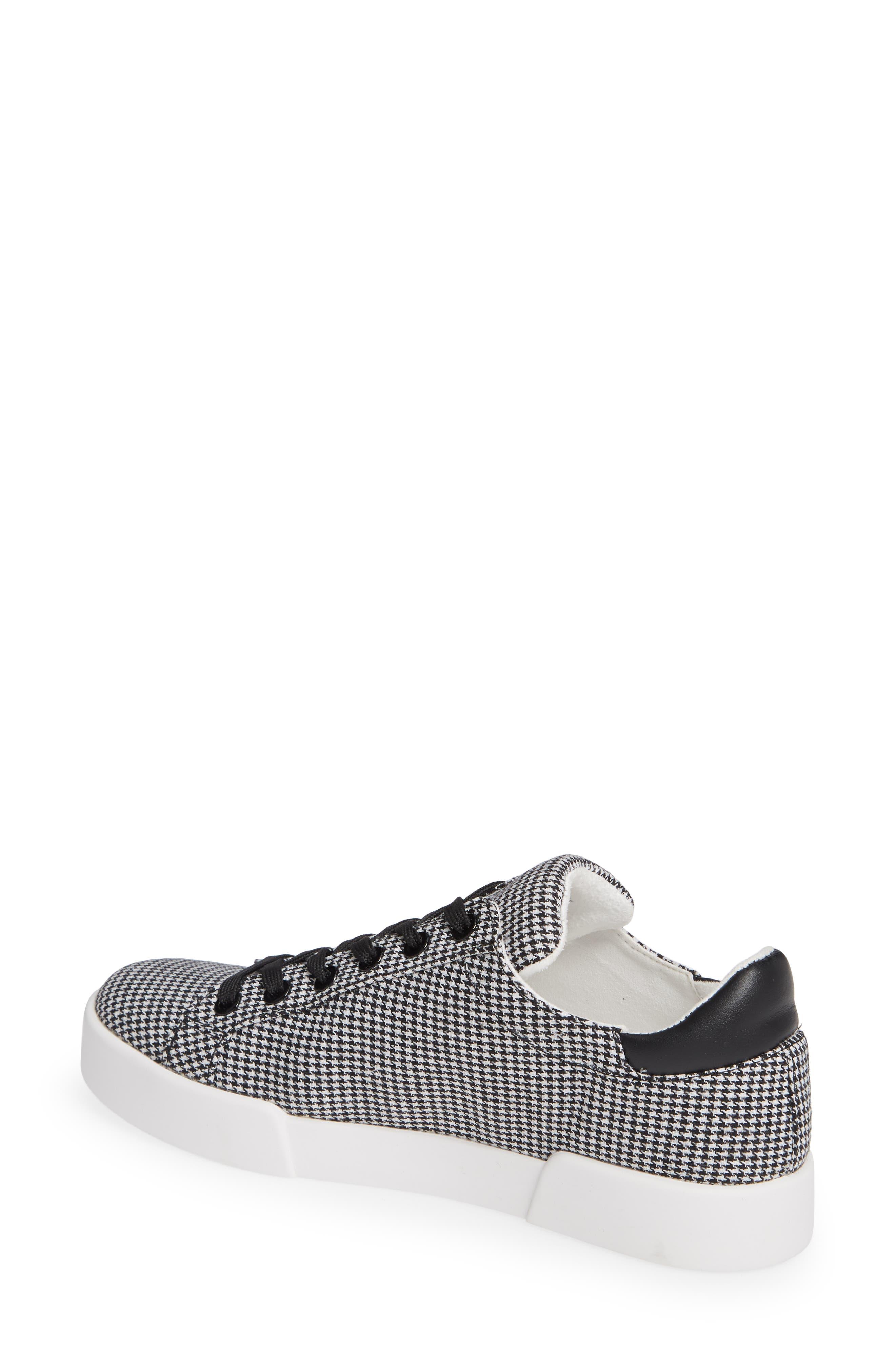 Tyler Sneaker,                             Alternate thumbnail 2, color,                             BLACK/ WHITE FABRIC