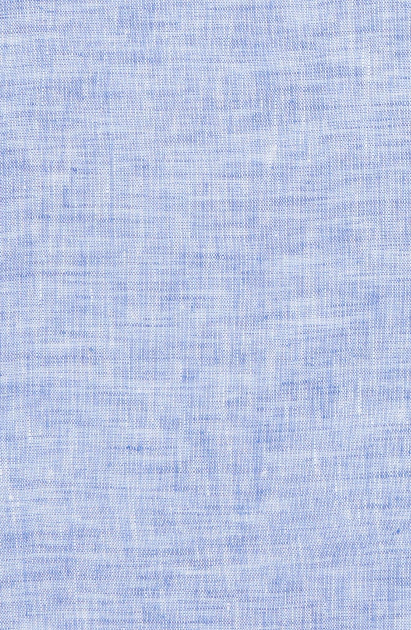 South End Linen Pocket Square,                             Alternate thumbnail 8, color,