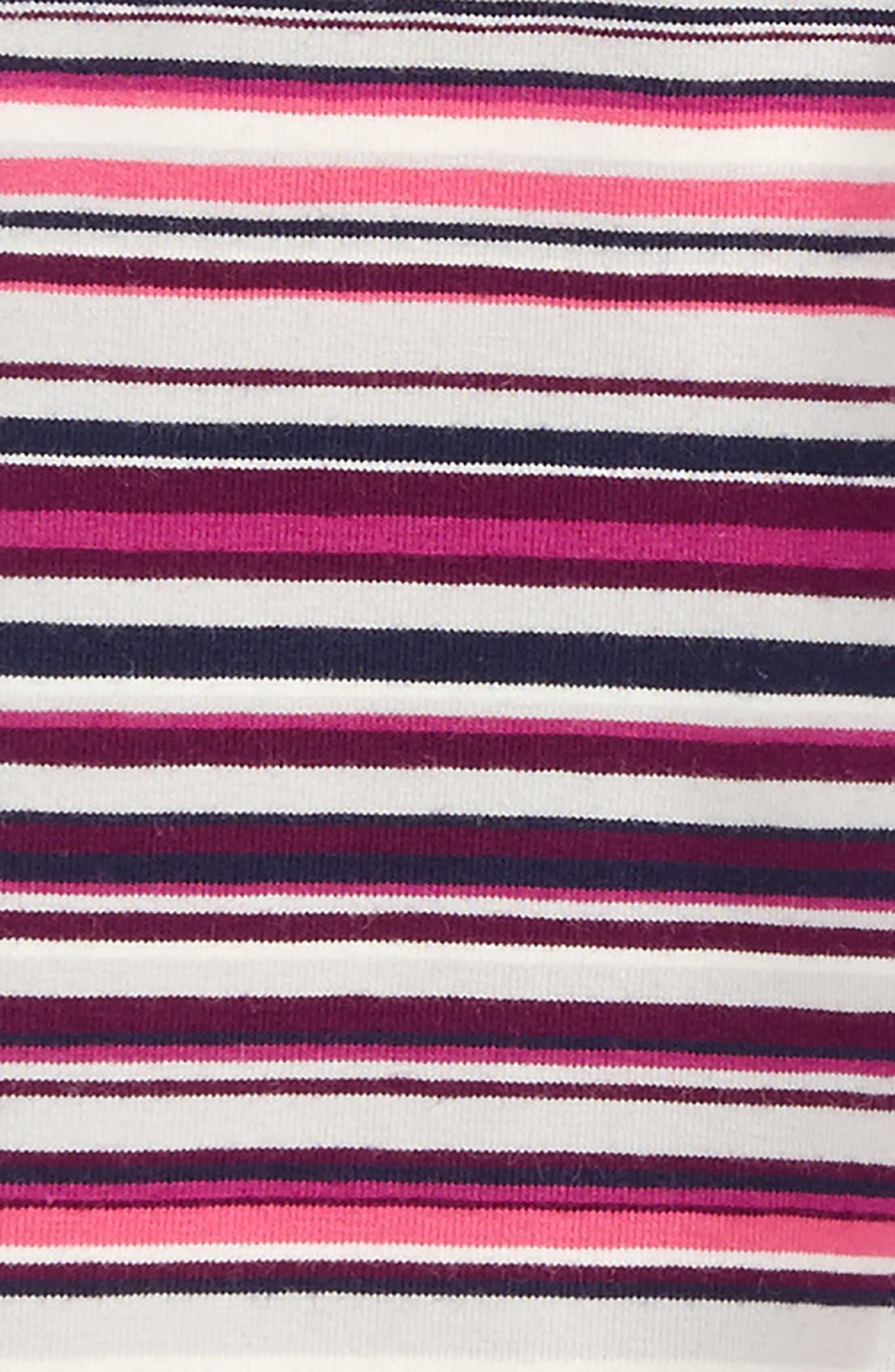 Stripe Leggings,                             Alternate thumbnail 4, color,