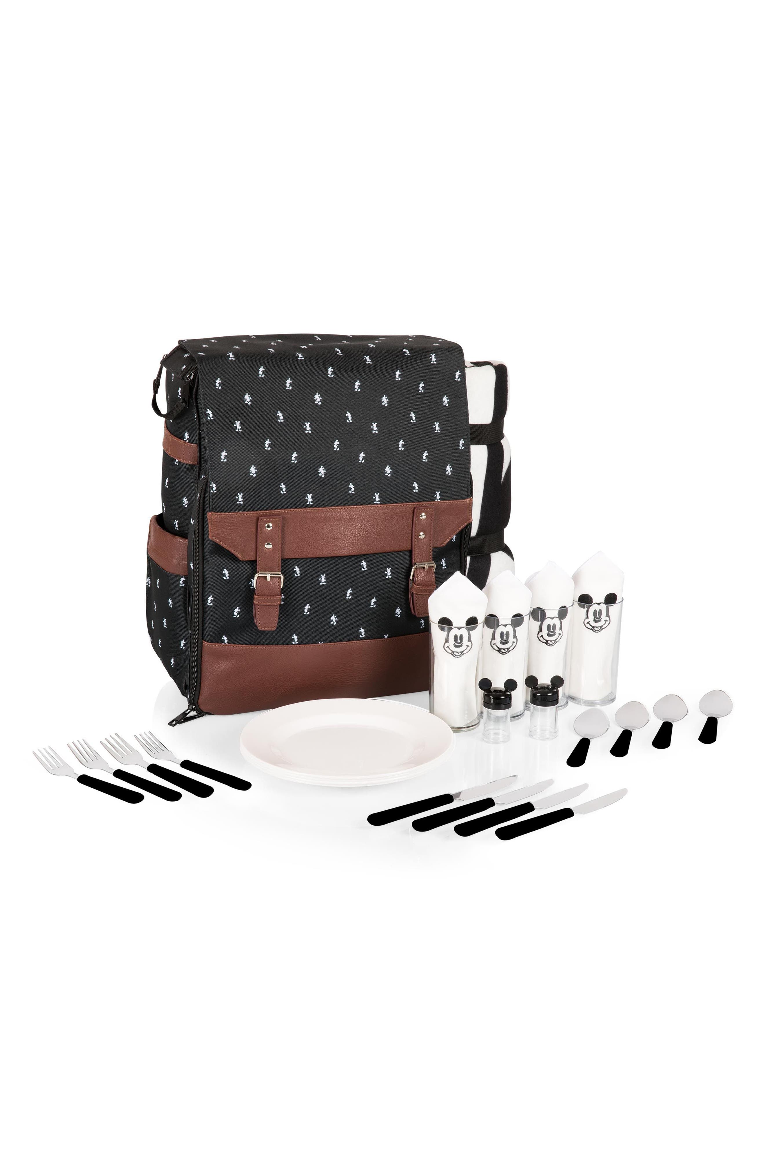 Mickey Mouse<sup>®</sup> Picnic Backpack,                             Alternate thumbnail 7, color,                             001