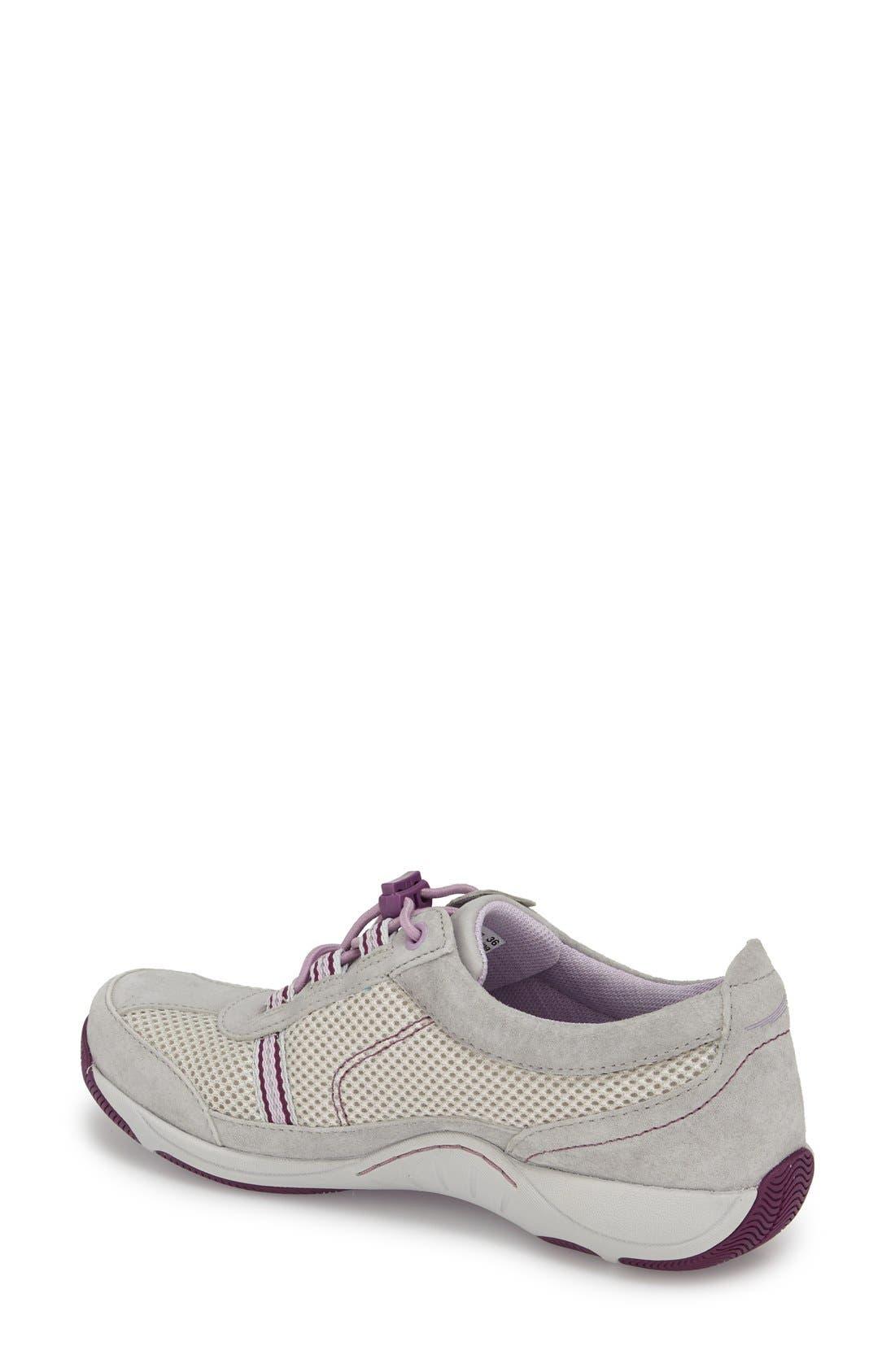 'Helen' Suede & Mesh Sneaker,                             Alternate thumbnail 82, color,