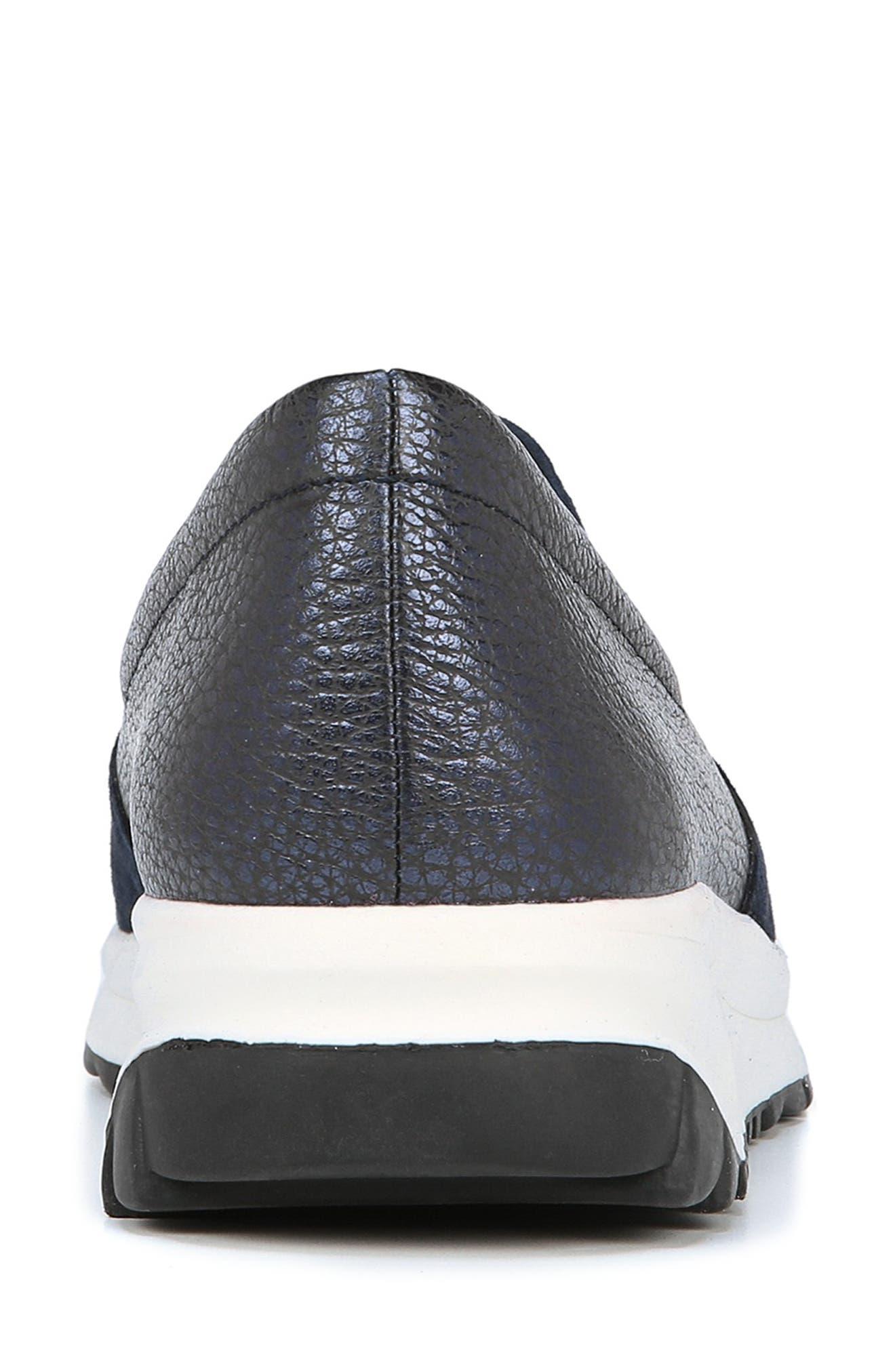 Selah Slip-On Sneaker,                             Alternate thumbnail 9, color,                             INKY NAVY SUEDE