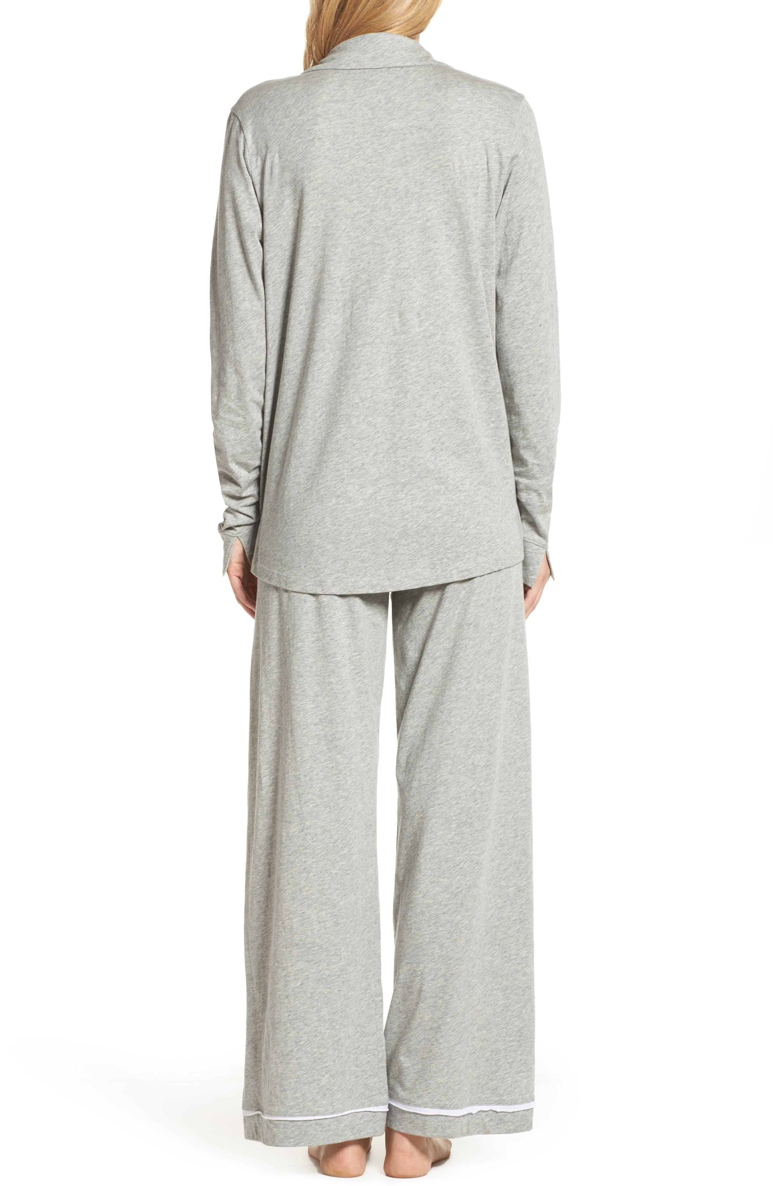 Penelope Pima Cotton Pajamas,                             Alternate thumbnail 2, color,