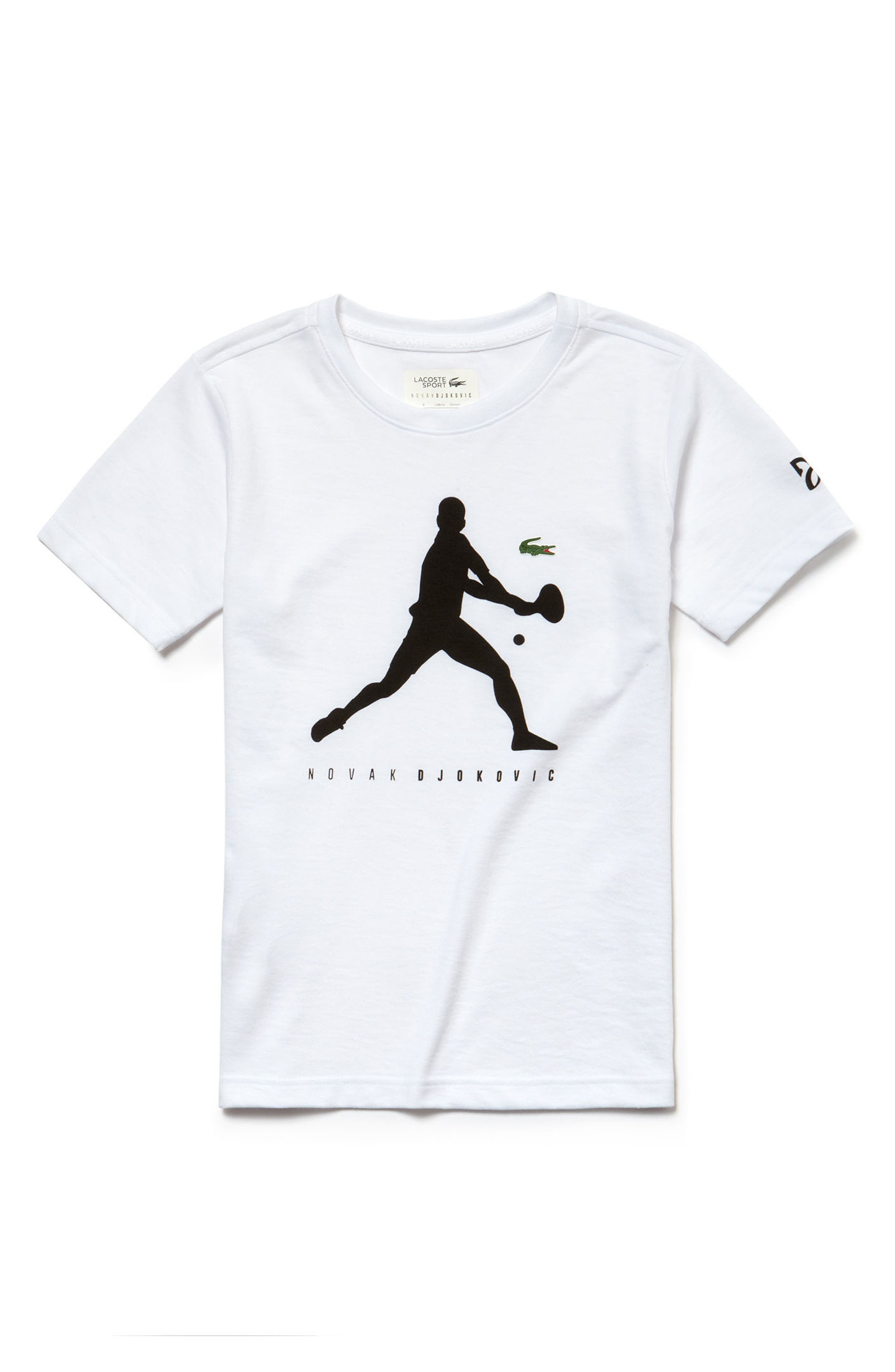 Novak Djokovic Graphic T-Shirt,                             Main thumbnail 1, color,                             135