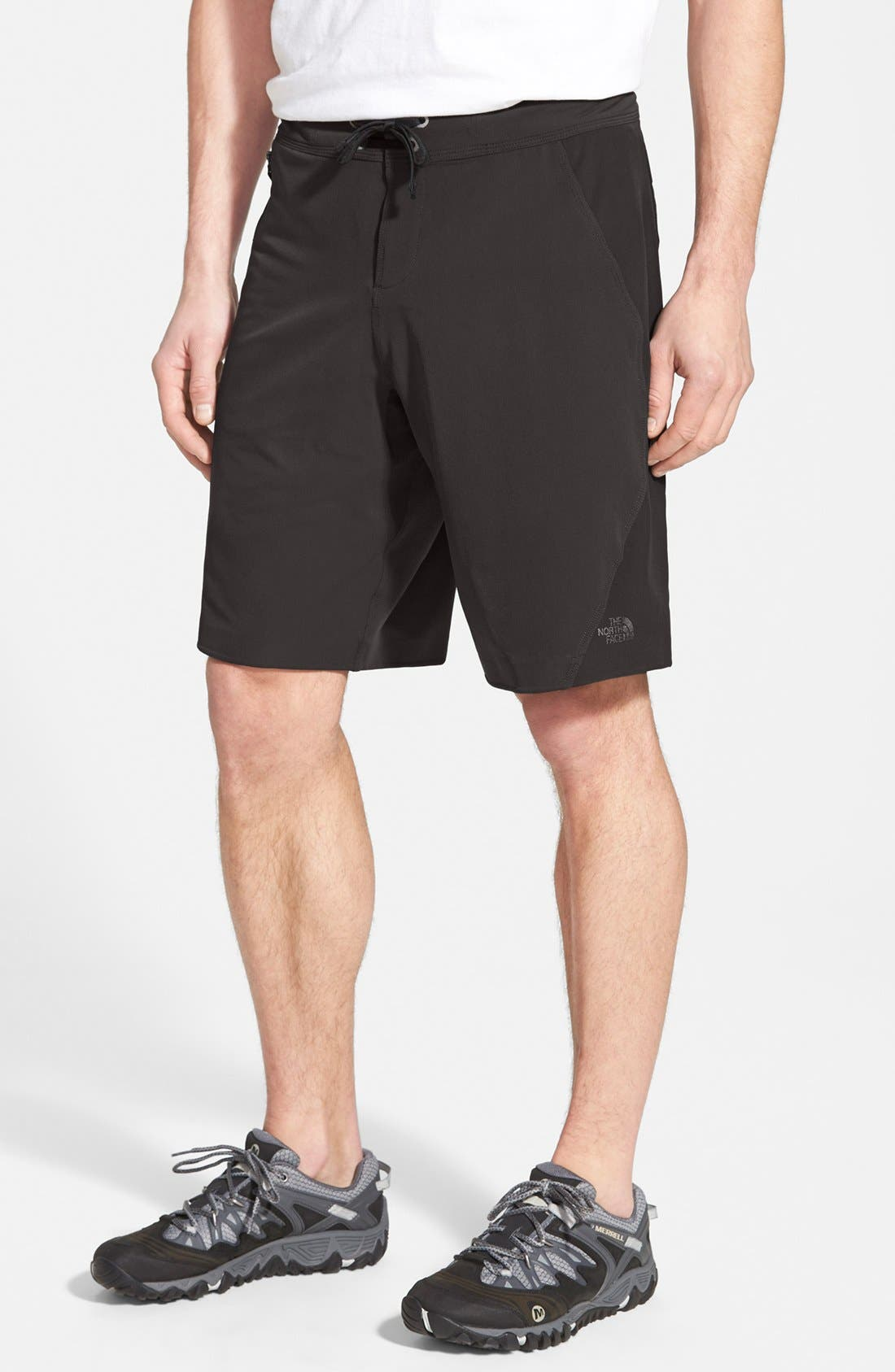 THE NORTH FACE,                             'Kilowatt' Shorts,                             Main thumbnail 1, color,                             001
